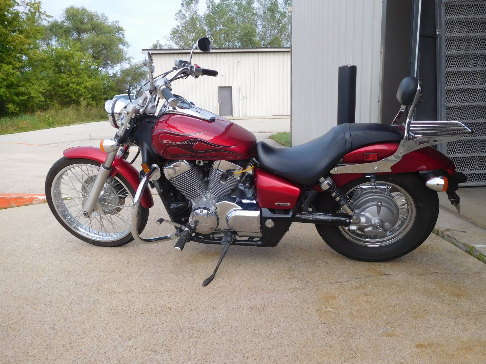 2008 Honda Shadow Spirit 750 in Rochester, Minnesota - Photo 1
