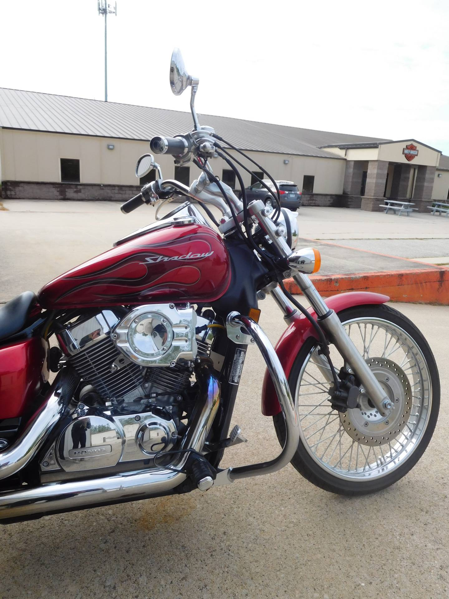 2008 Honda Shadow Spirit 750 in Rochester, Minnesota - Photo 4