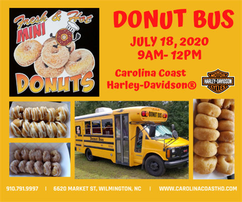 Donut Bus at Carolina Coast Harley-Davidson