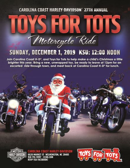 27th Annual Toys for Tots Ride