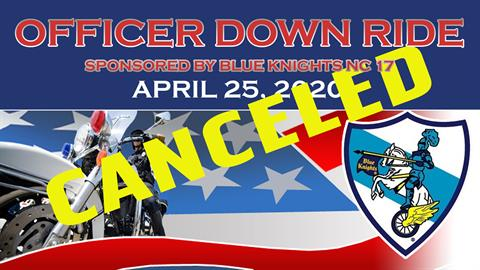 2020 Officer Down Ride - CANCELED