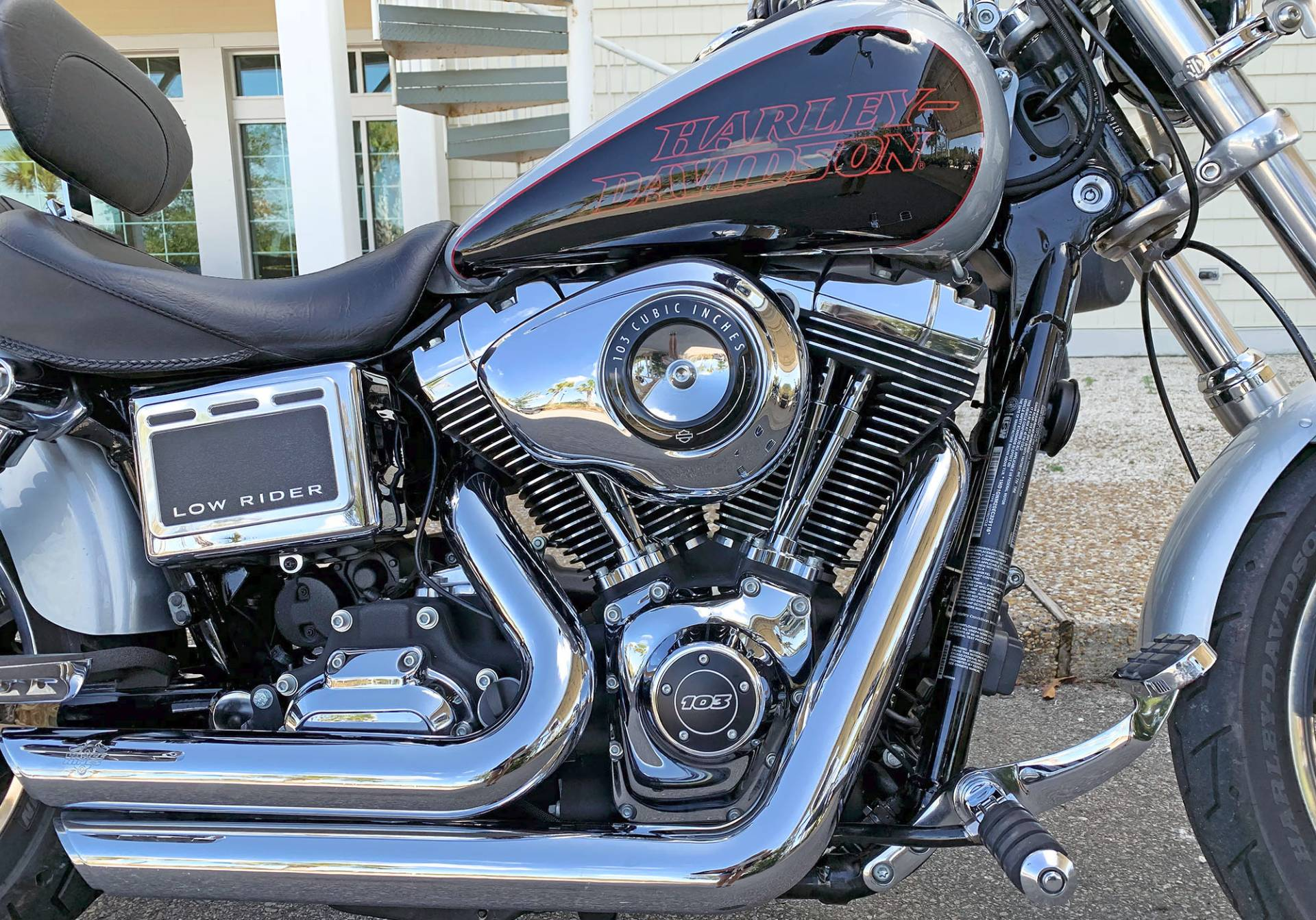 2014 Harley-Davidson Dyna® Low Rider® in Jacksonville, North Carolina - Photo 9