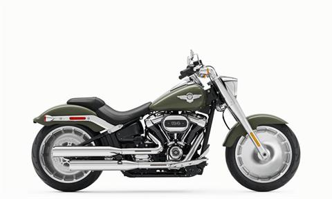 2021 Harley-Davidson Fat Boy® 114 in Jacksonville, North Carolina