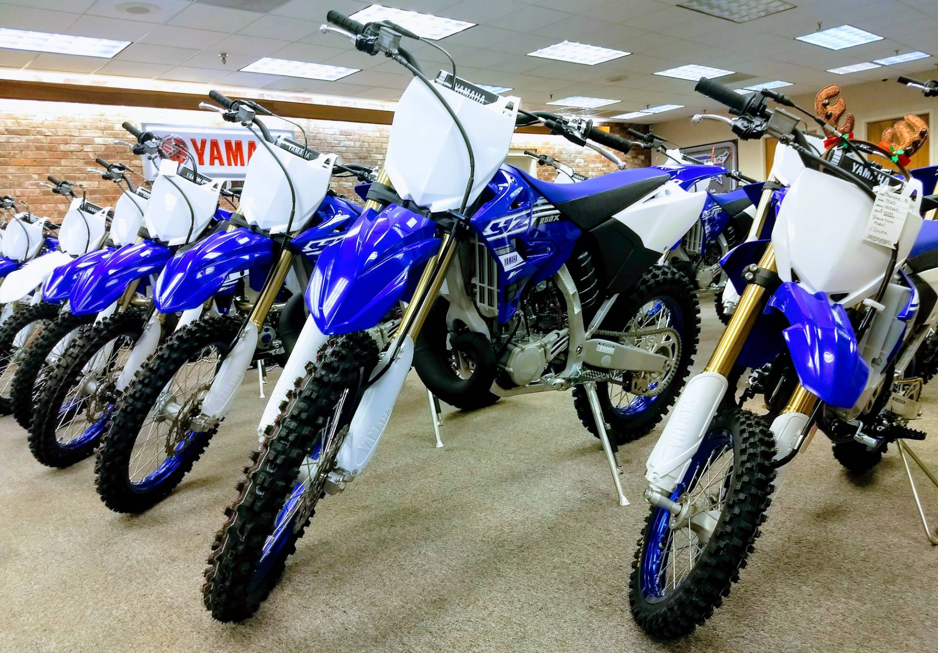 2019 Yamaha YZ250X in Statesville, North Carolina