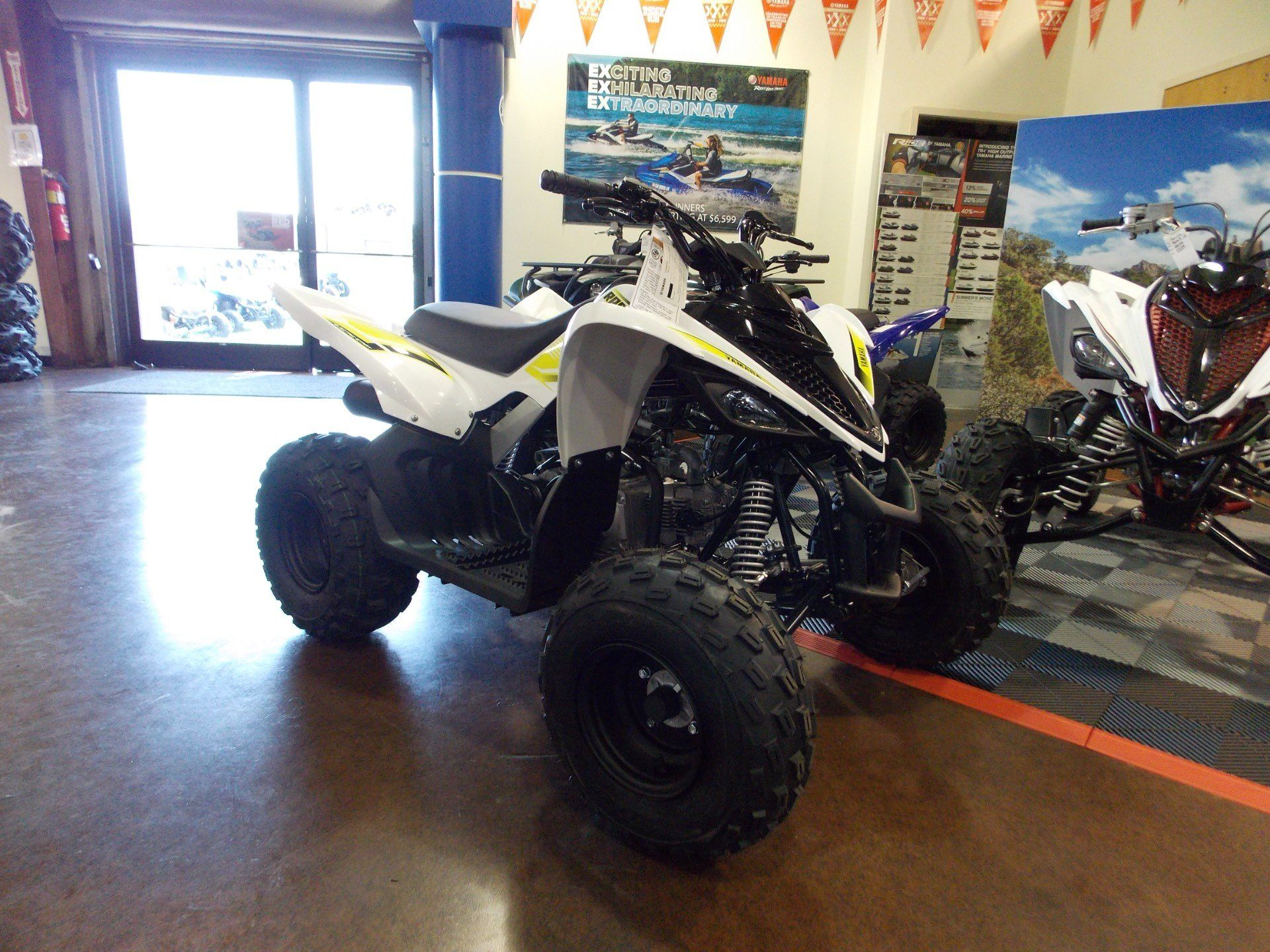 2018 Yamaha Raptor 90 in Statesville, North Carolina - Photo 1