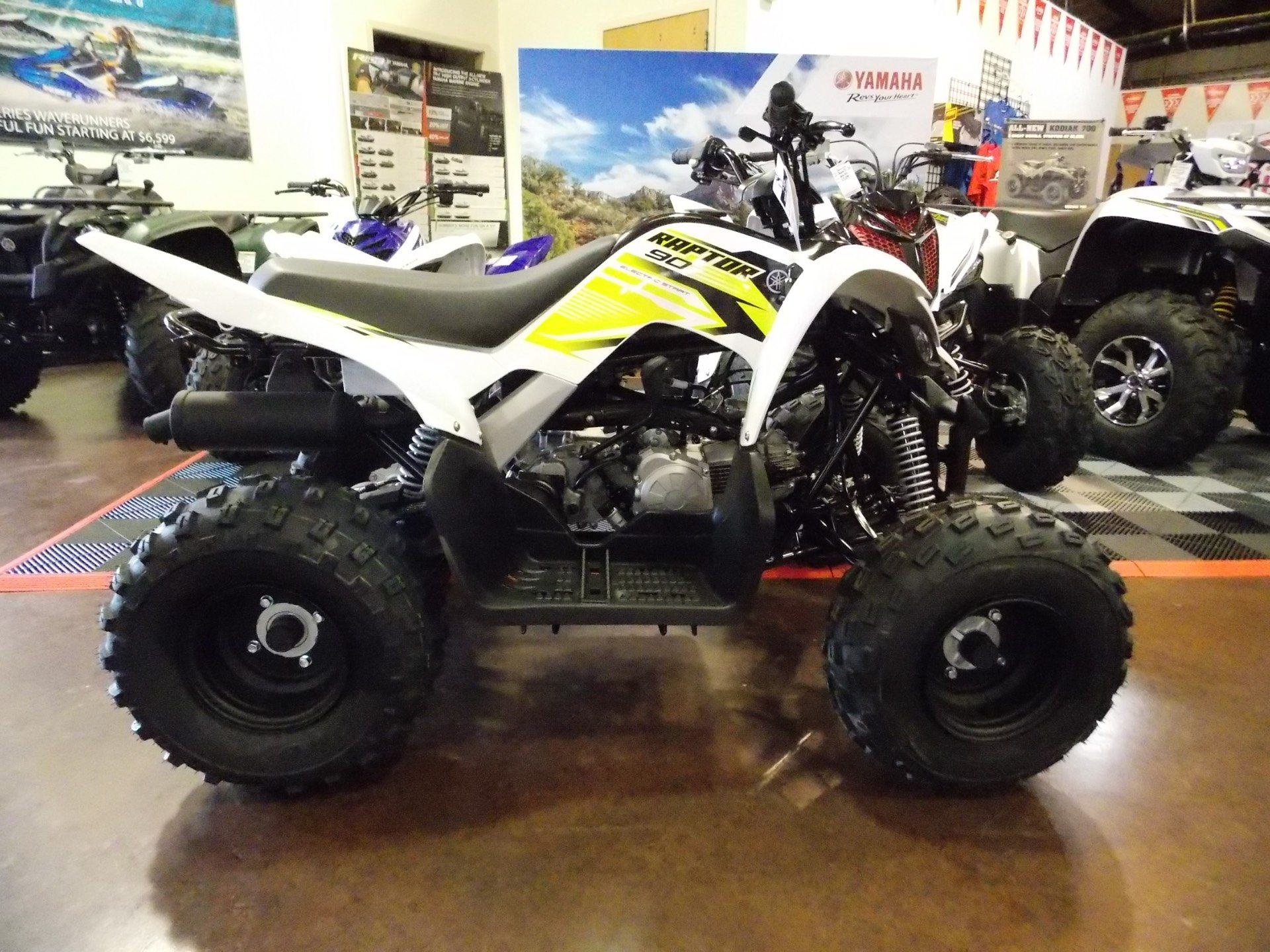 2018 Yamaha Raptor 90 in Statesville, North Carolina - Photo 2