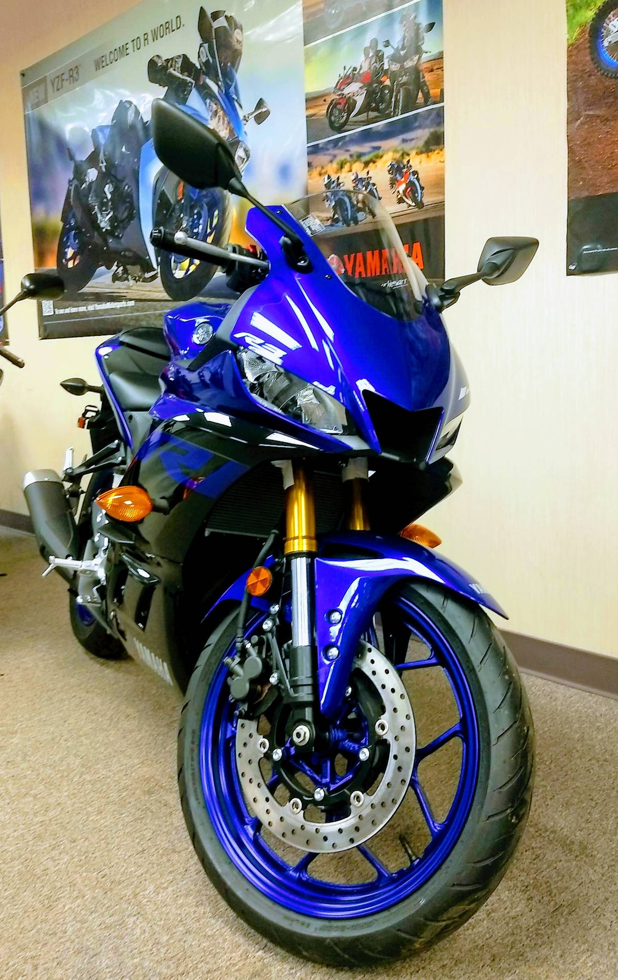 2019 Yamaha YZF-R3 in Statesville, North Carolina