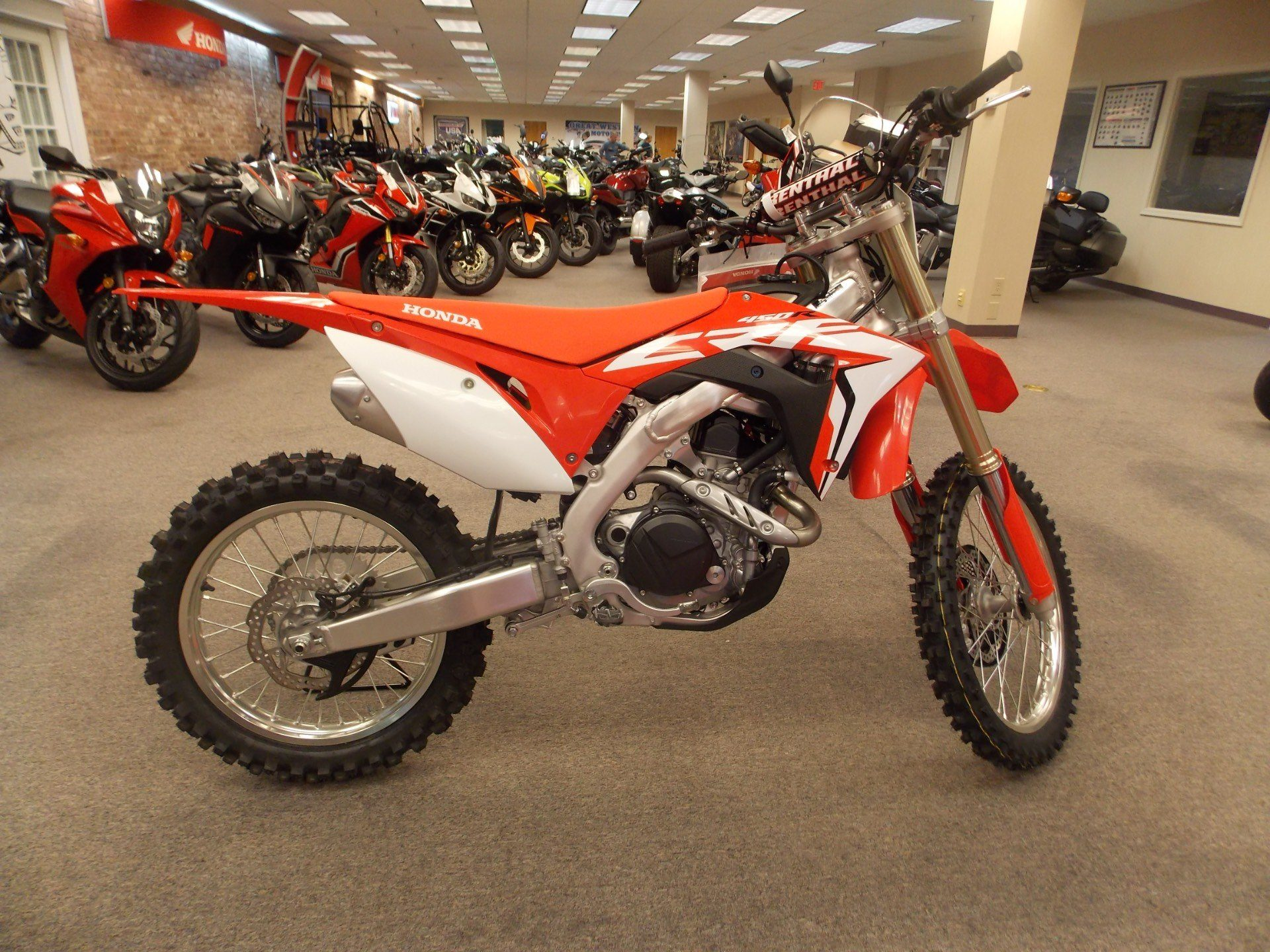 2018 Honda CRF450R in Statesville, North Carolina