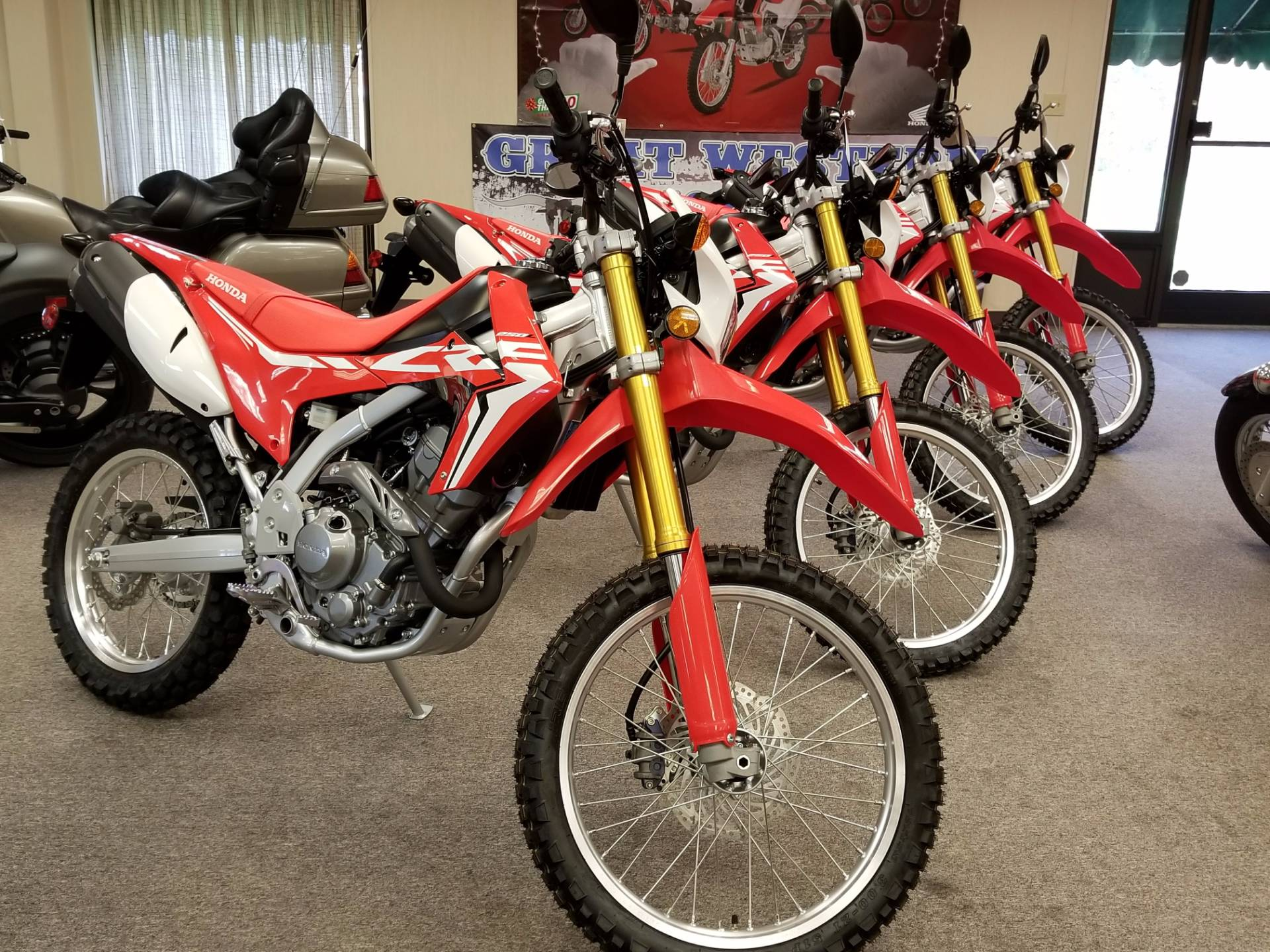 New 2018 Honda CRF450R Motorcycles in Statesville, NC | Stock Number ...