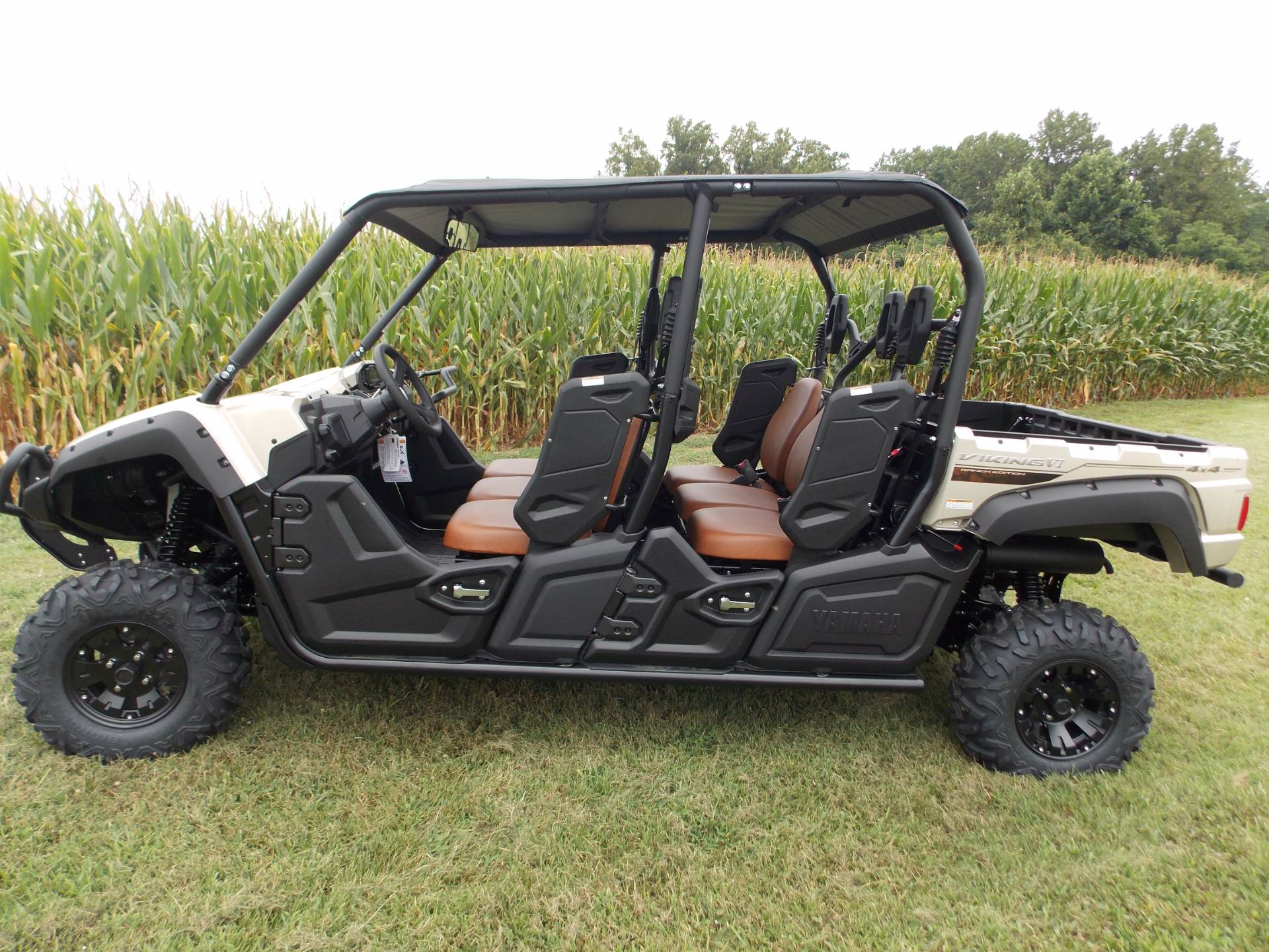 new 2018 yamaha viking vi eps ranch edition utility
