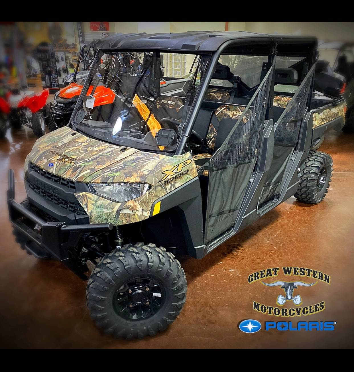 2020 Polaris Ranger Crew 1000 EPS in Statesville, North Carolina - Photo 1
