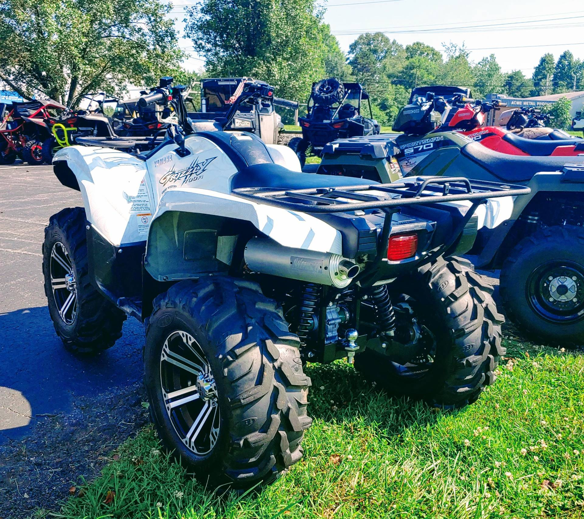 2010 Yamaha Grizzly 700 FI Auto. 4x4 EPS Special Edition in Statesville, North Carolina - Photo 4