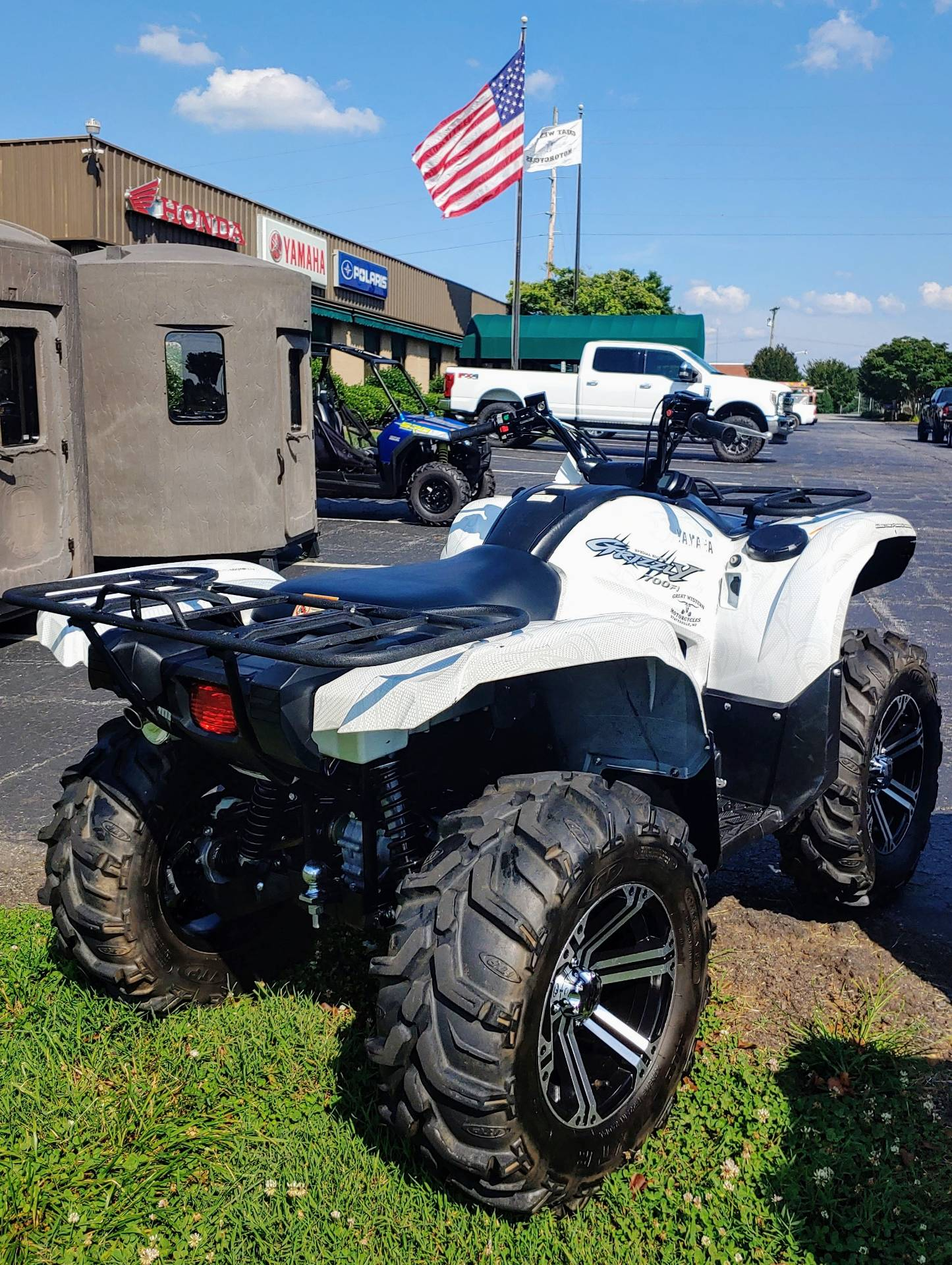 2010 Yamaha Grizzly 700 FI Auto. 4x4 EPS Special Edition in Statesville, North Carolina - Photo 1