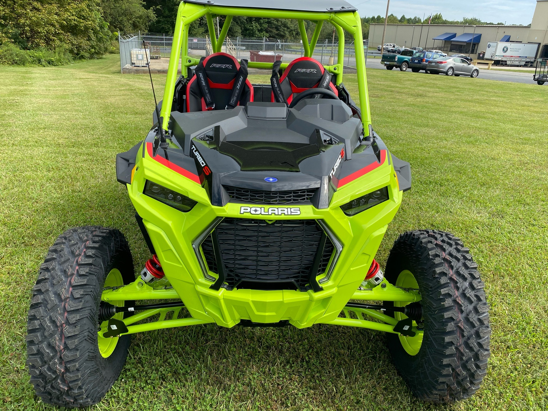 2021 Polaris RZR Turbo S Lifted Lime LE in Statesville, North Carolina - Photo 3
