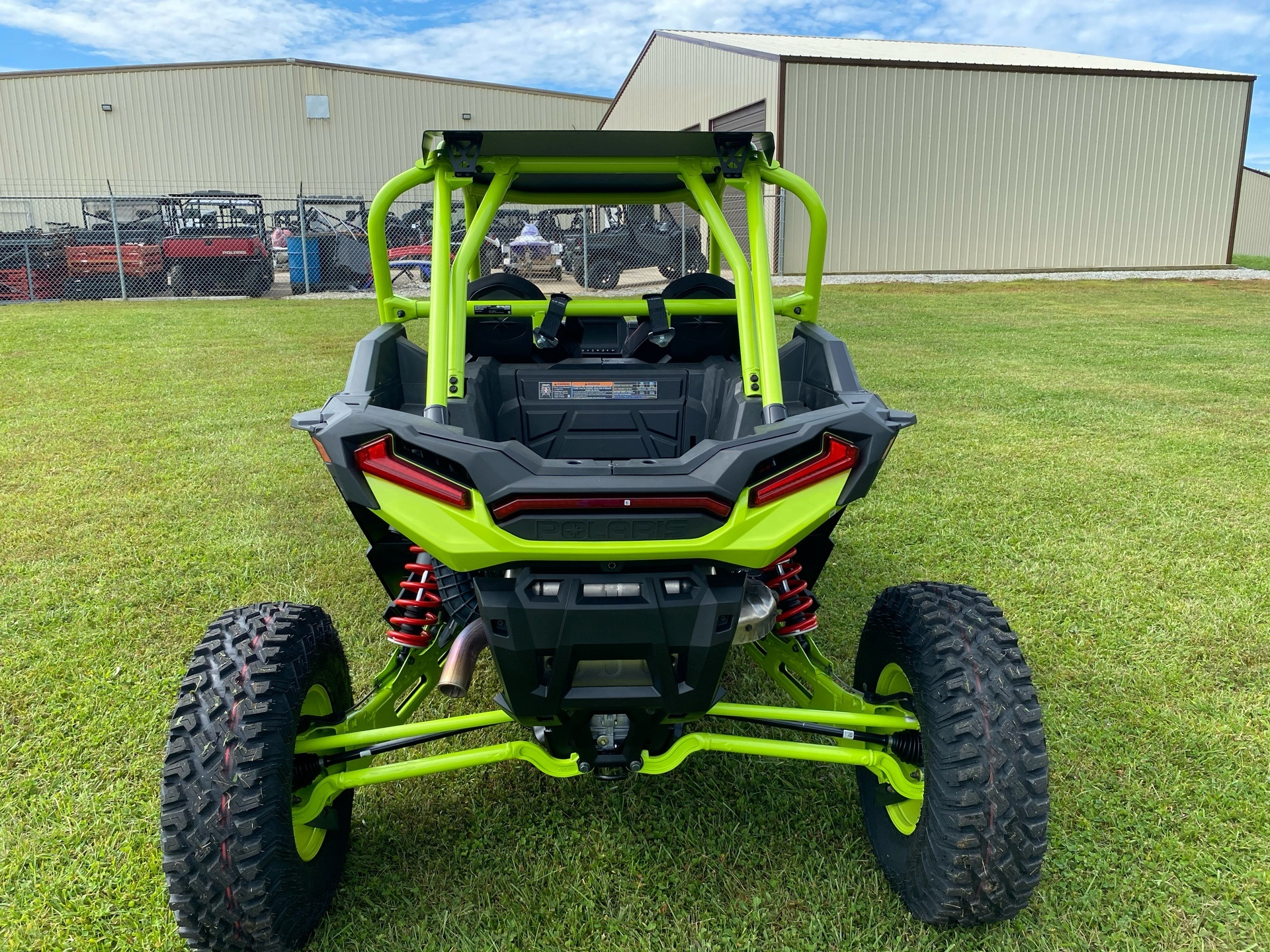 2021 Polaris RZR Turbo S Lifted Lime LE in Statesville, North Carolina - Photo 4