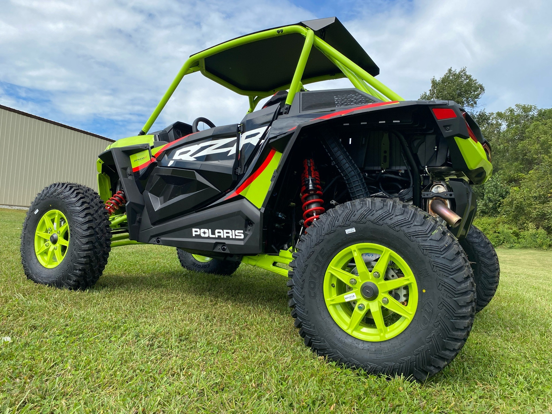 2021 Polaris RZR Turbo S Lifted Lime LE in Statesville, North Carolina - Photo 5