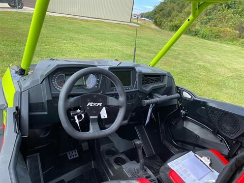2021 Polaris RZR Turbo S Lifted Lime LE in Statesville, North Carolina - Photo 11