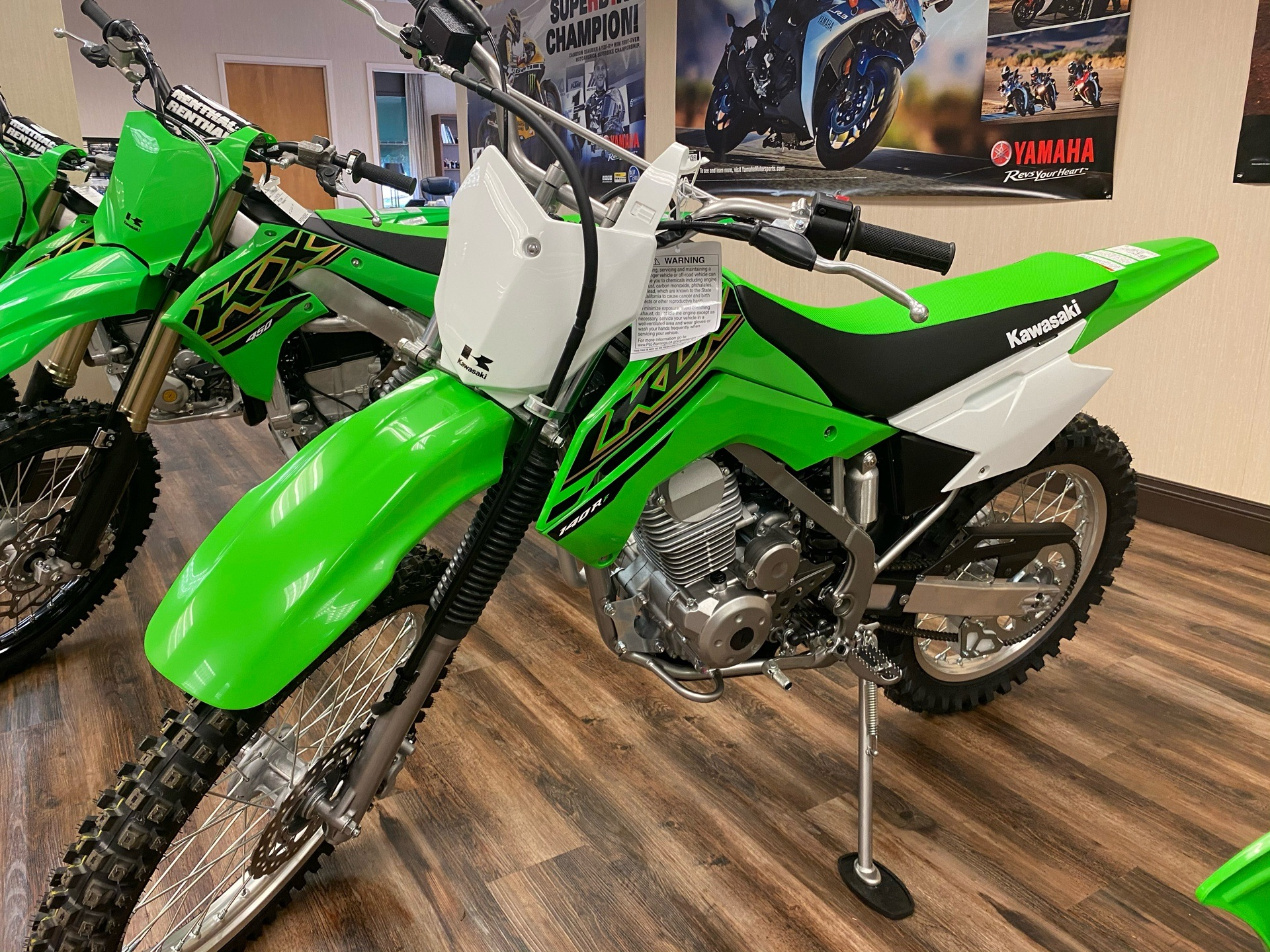 2021 Kawasaki KLX 140R F in Statesville, North Carolina - Photo 2