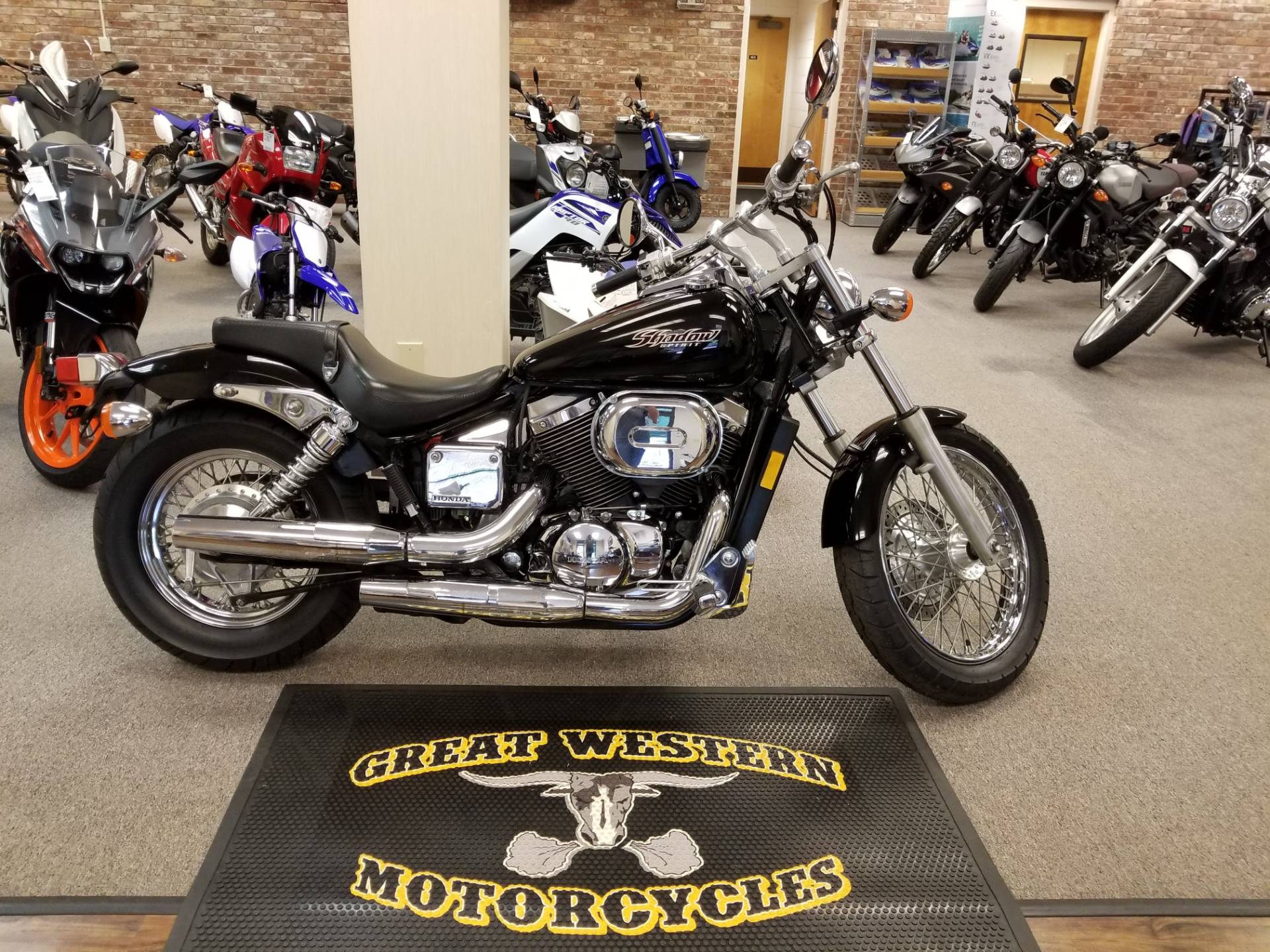 Used 2005 Honda Shadow Spirit 750 Motorcycles In Statesville Nc Fuel Filter North Carolina