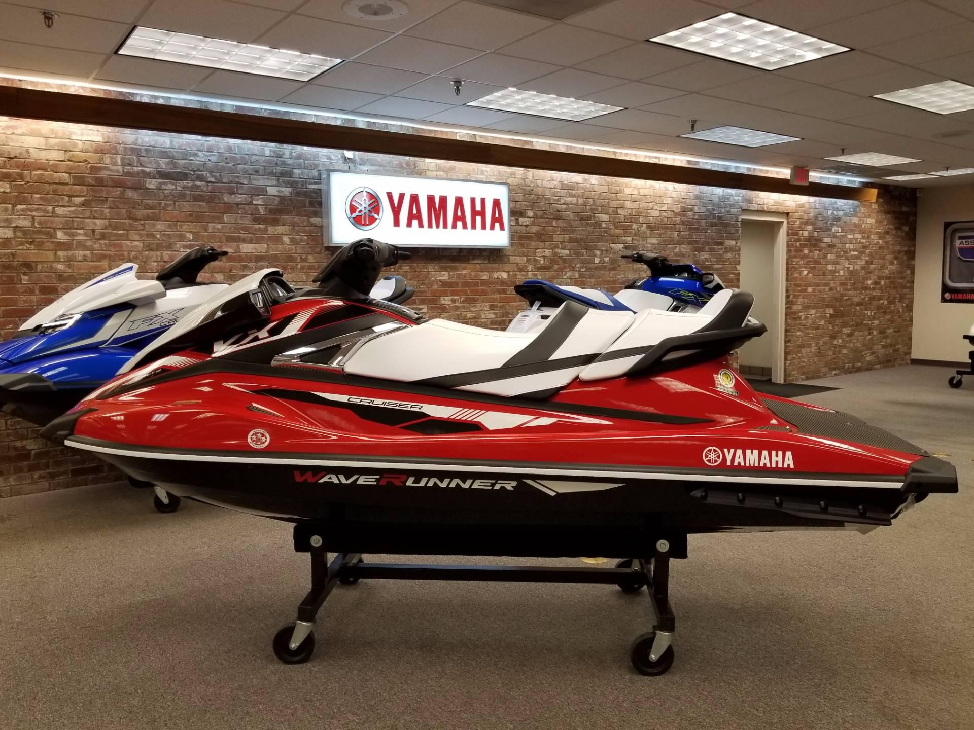 New 2018 Yamaha VX Cruiser Watercraft in Statesville NC