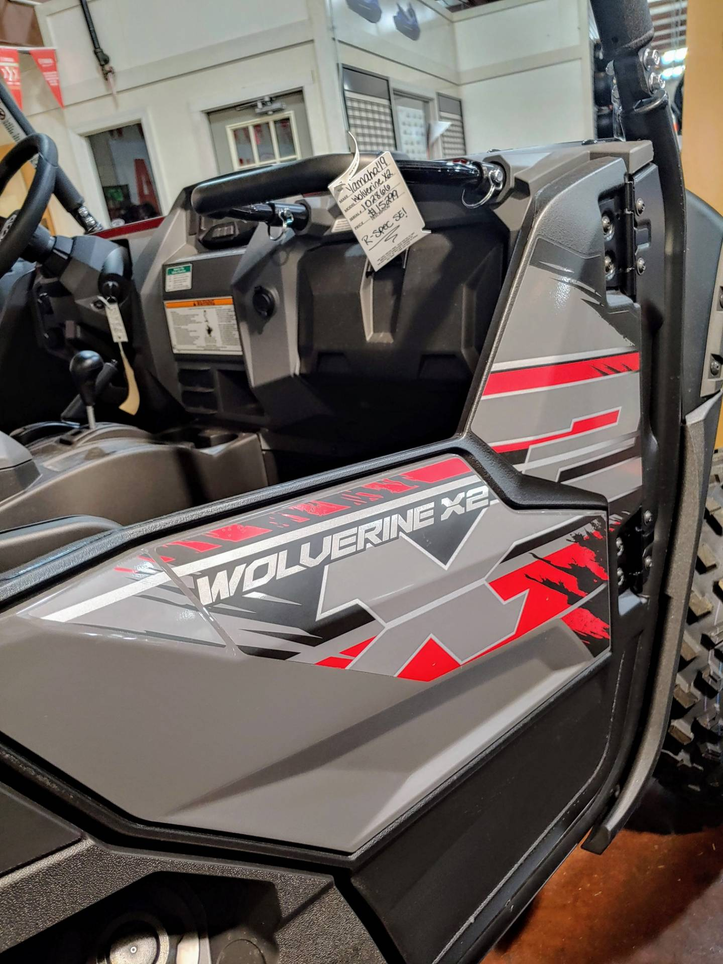2019 Yamaha Wolverine X2 R-Spec SE in Statesville, North Carolina - Photo 9