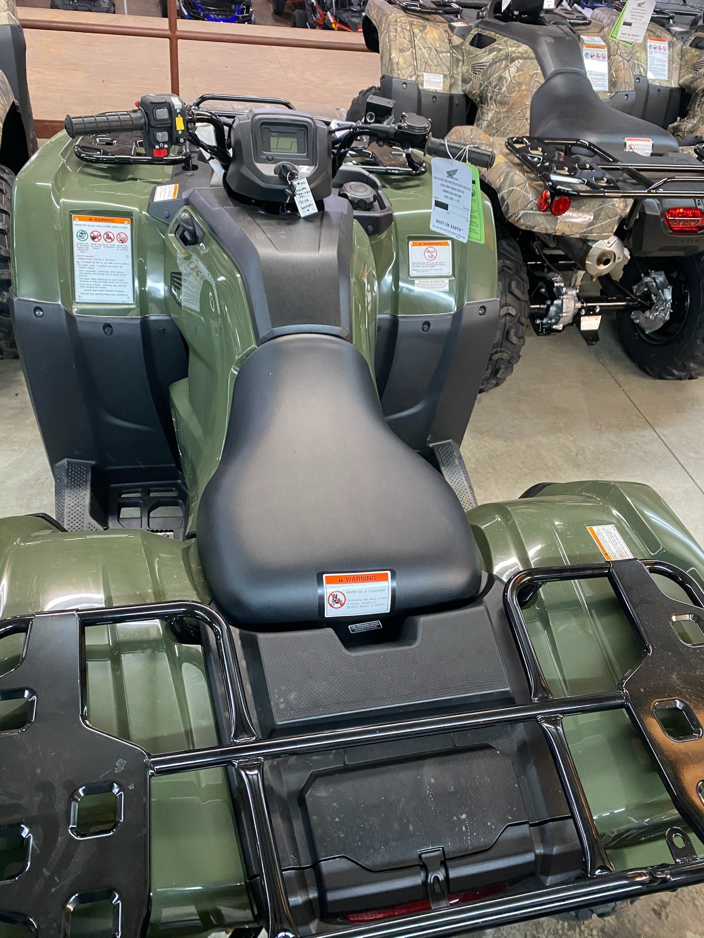 2020 Honda FourTrax Rancher 4x4 ES in Statesville, North Carolina - Photo 3