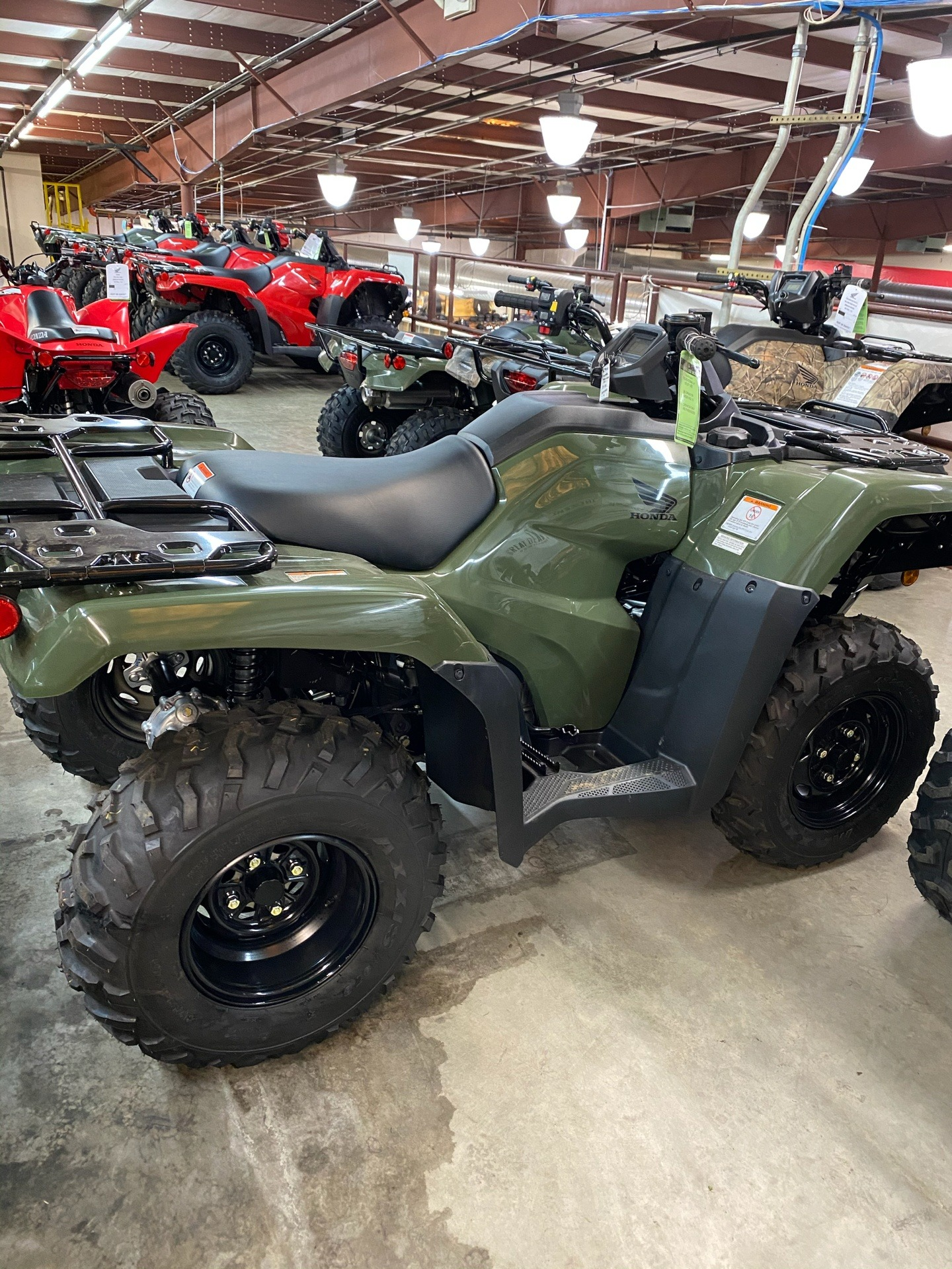 2020 Honda FourTrax Rancher 4x4 ES in Statesville, North Carolina - Photo 4