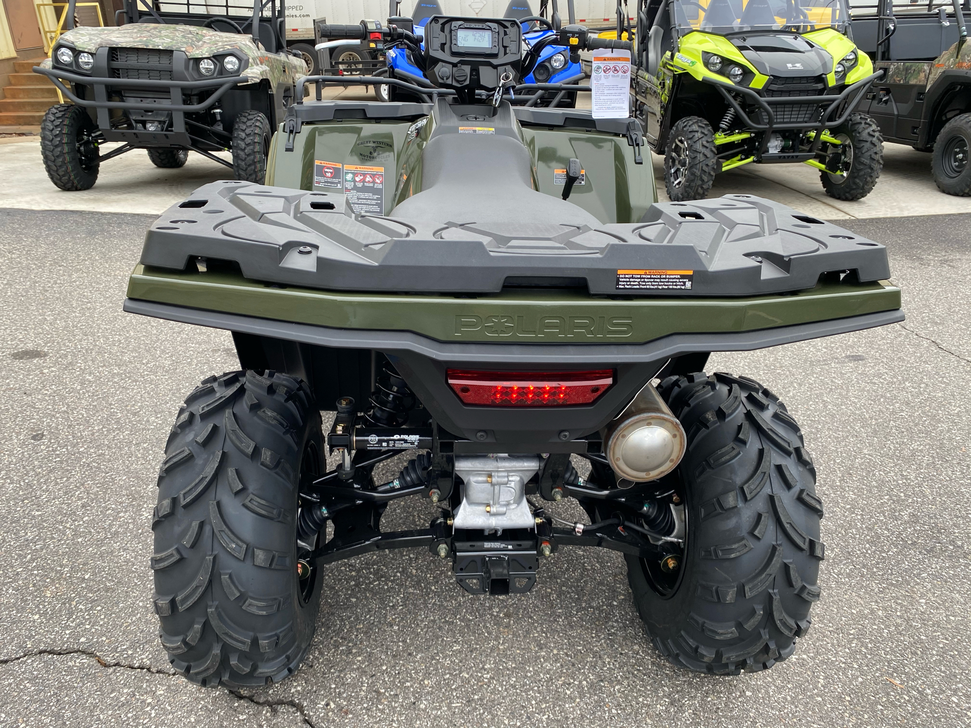 2021 Polaris Sportsman 450 H.O. in Statesville, North Carolina - Photo 5