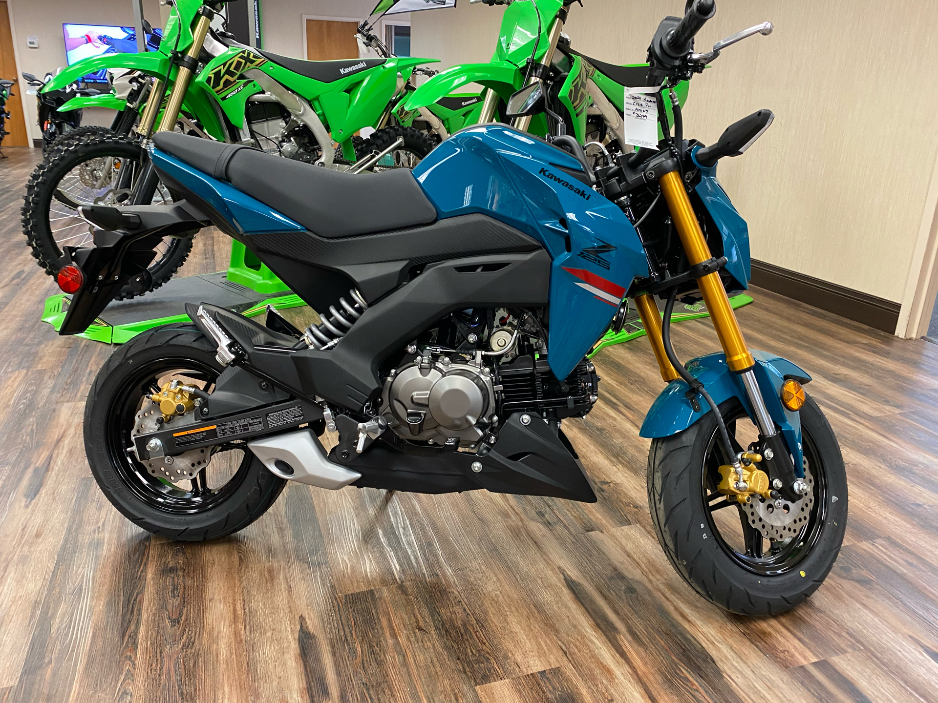 2021 Kawasaki Z125 Pro in Statesville, North Carolina - Photo 1