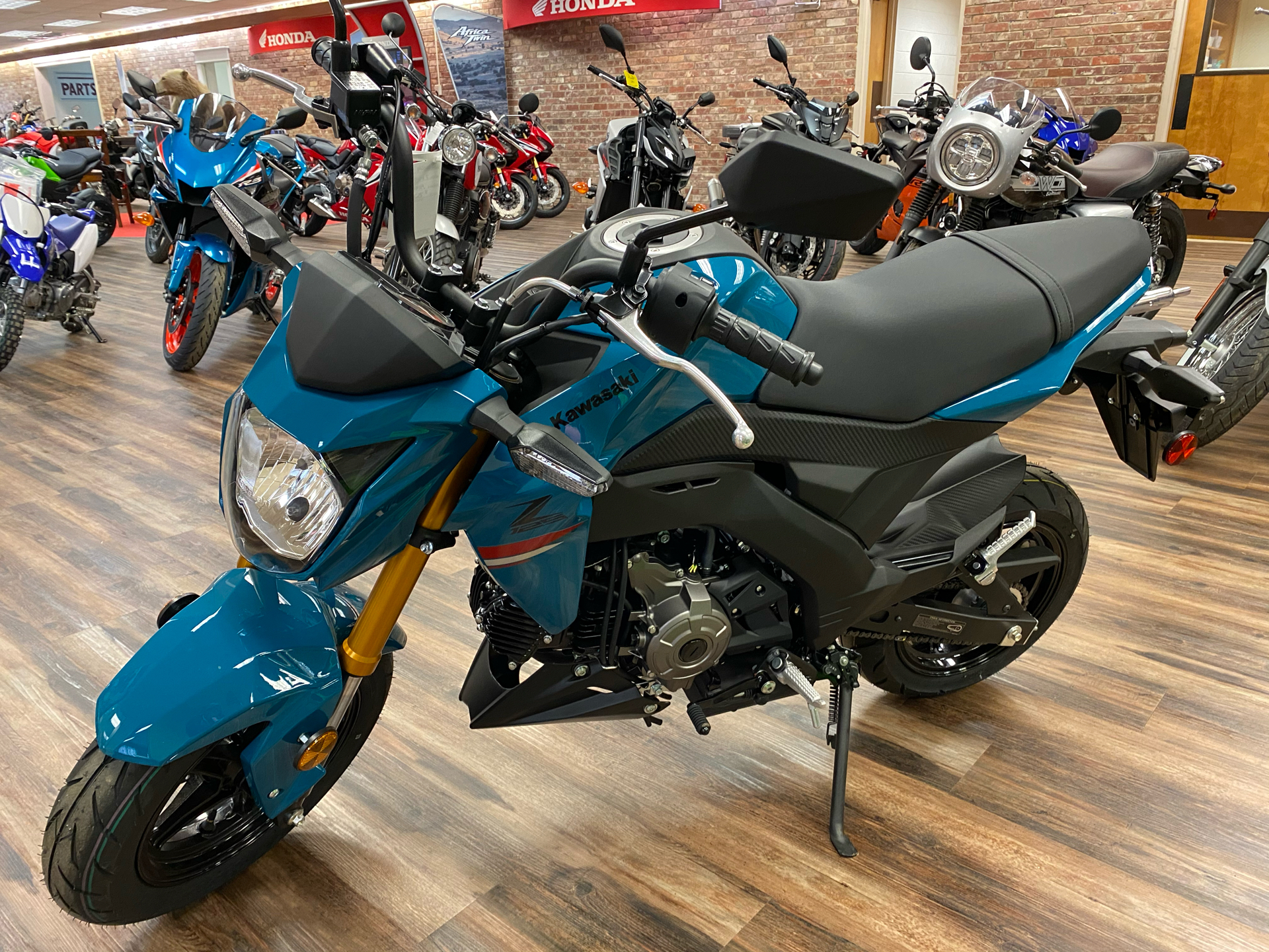 2021 Kawasaki Z125 Pro in Statesville, North Carolina - Photo 2