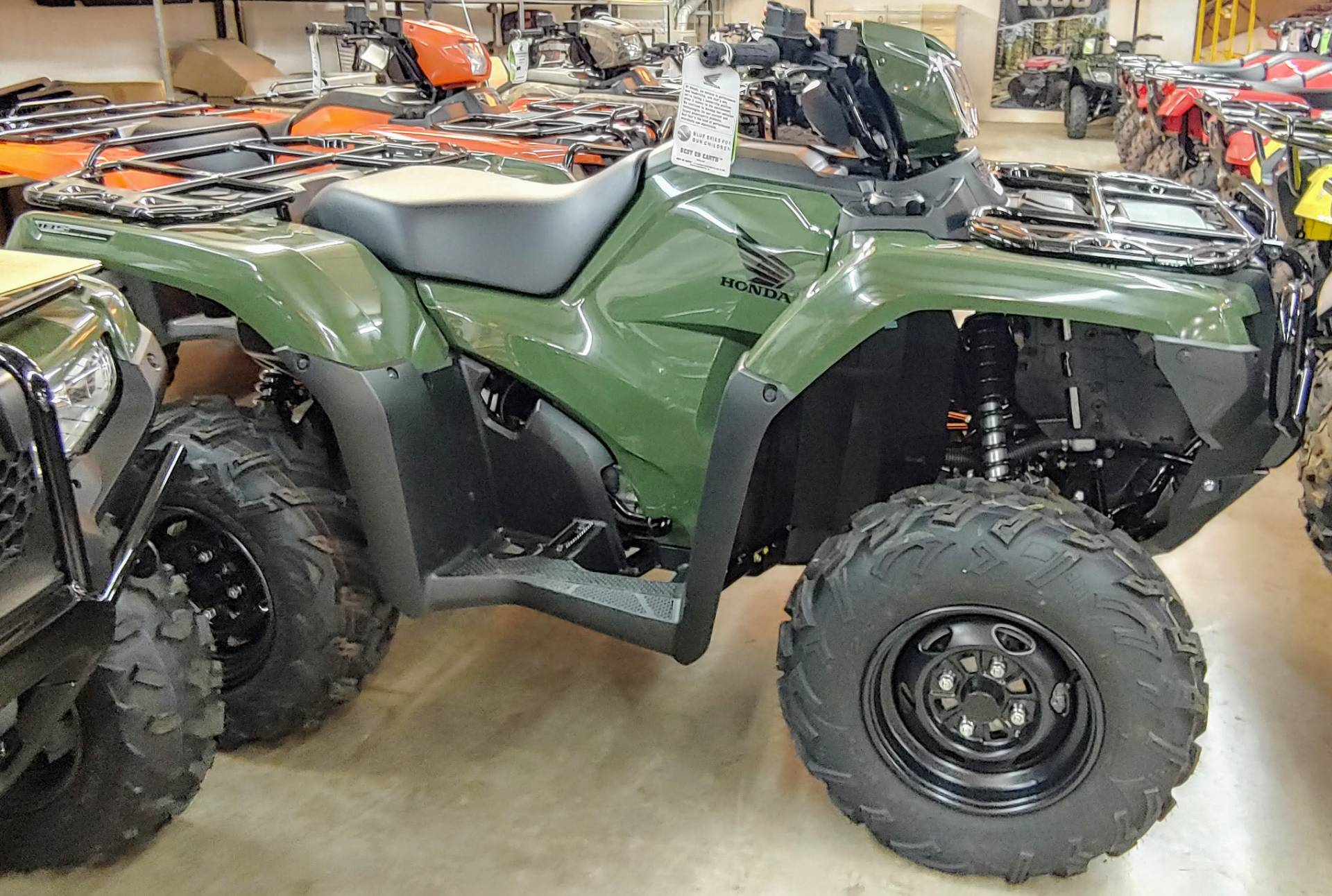 2018 Honda FourTrax Foreman Rubicon 4x4 Automatic DCT in Statesville, North Carolina - Photo 2