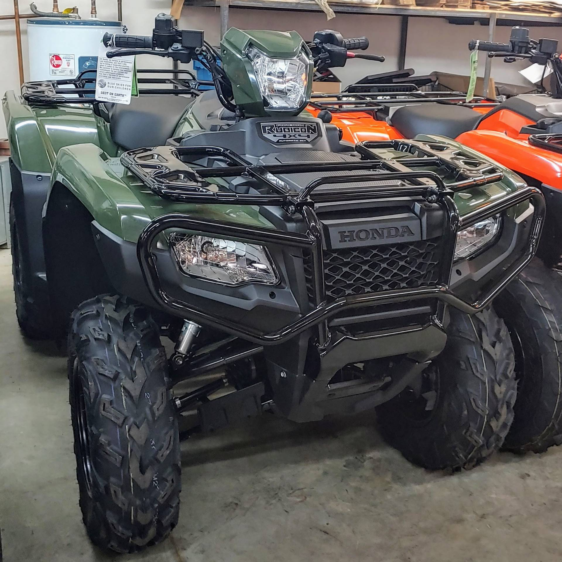 2018 Honda FourTrax Foreman Rubicon 4x4 Automatic DCT in Statesville, North Carolina - Photo 4