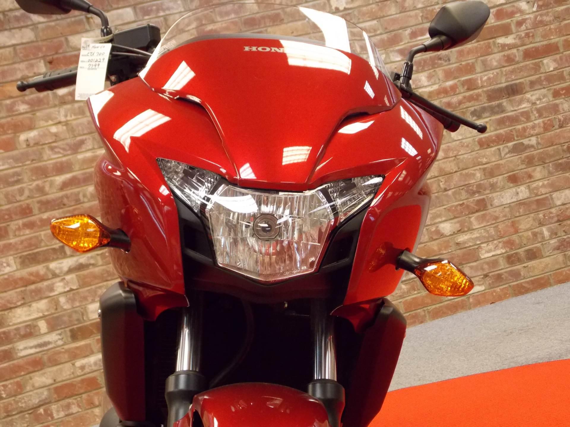 new 2014 honda ctx®700 motorcycles in statesville, nc | stock