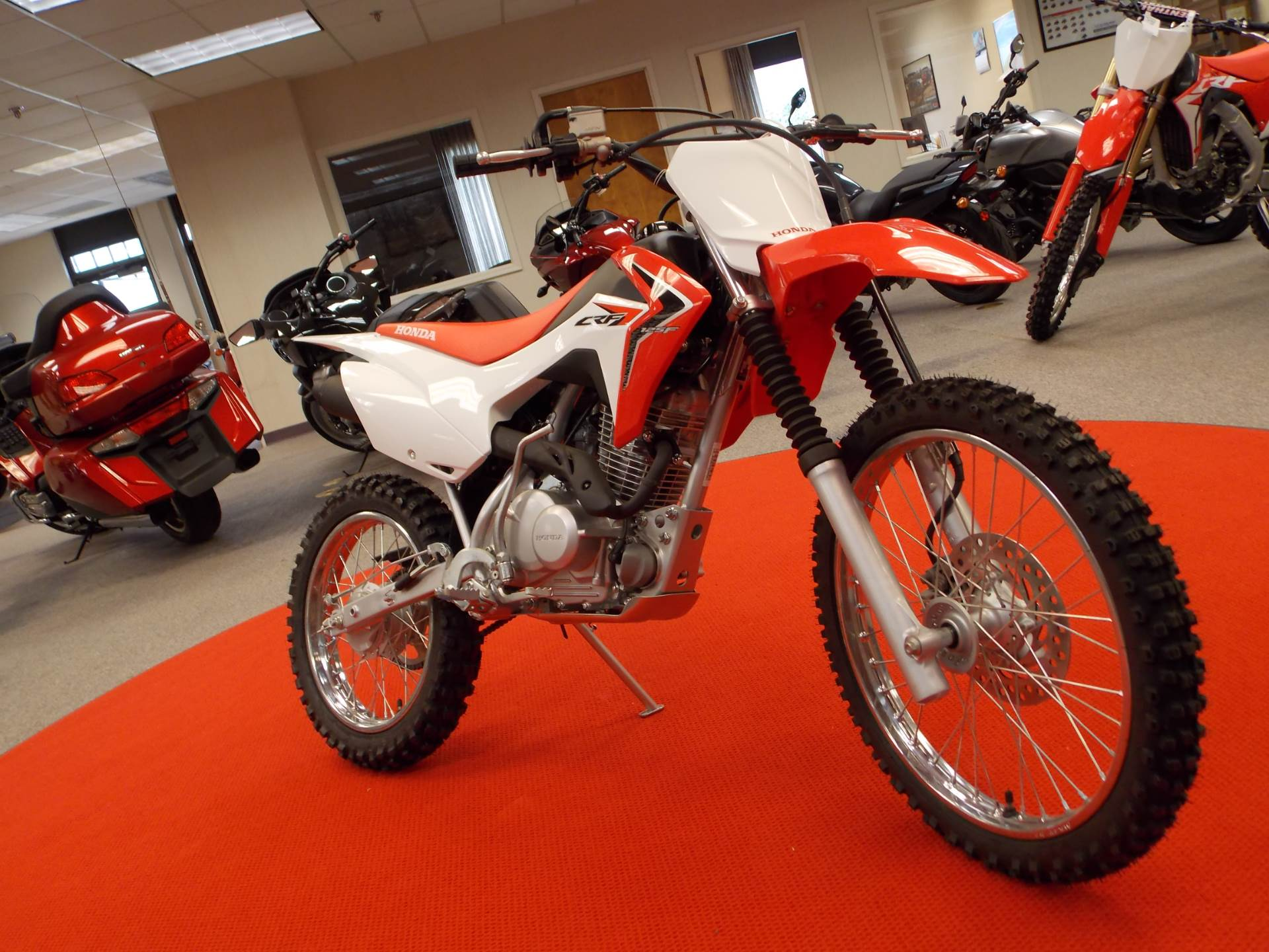 new 2017 honda crf125f (big wheel) motorcycles in statesville, nc