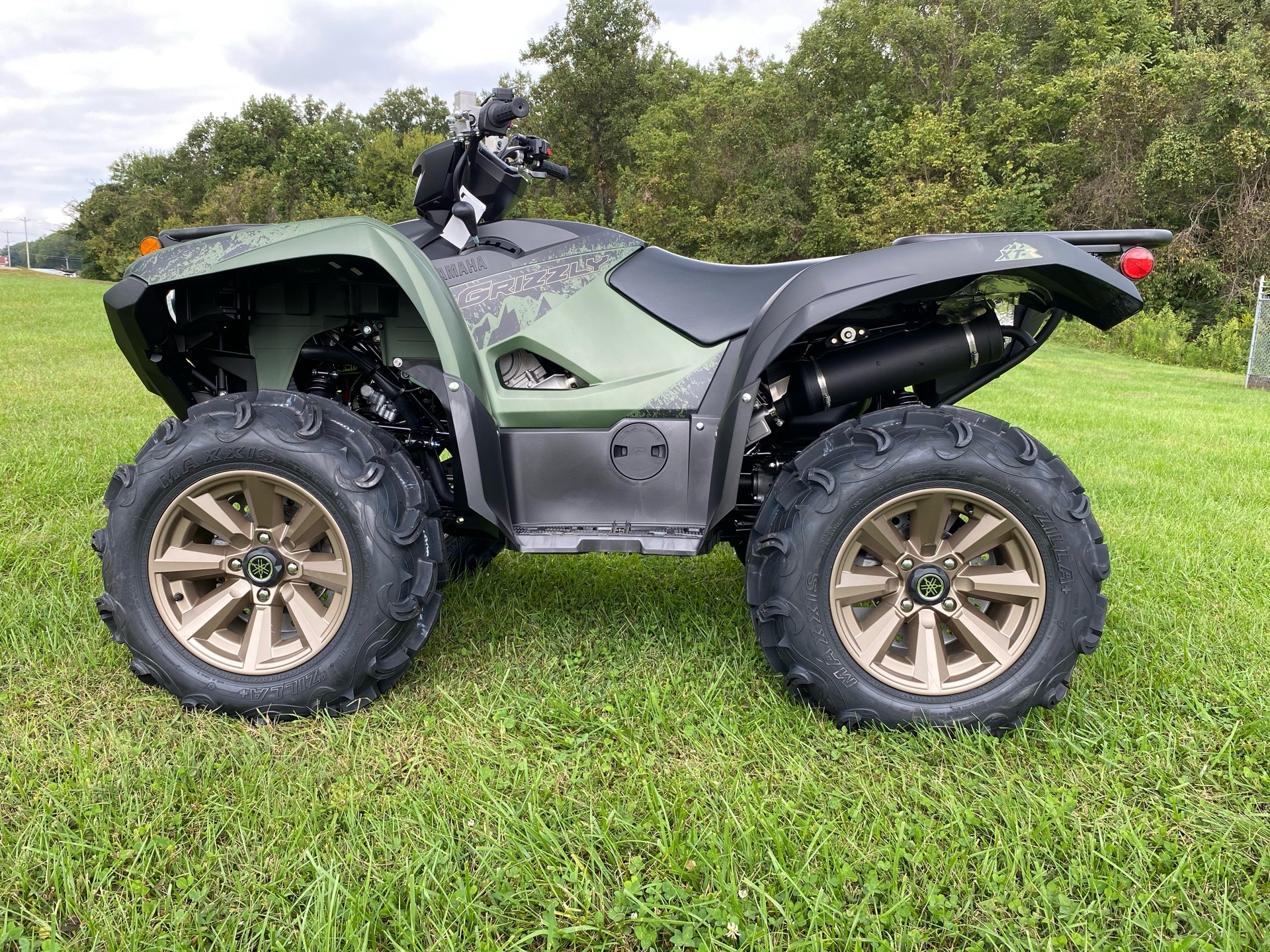 2021 Yamaha Grizzly EPS XT-R in Statesville, North Carolina - Photo 1