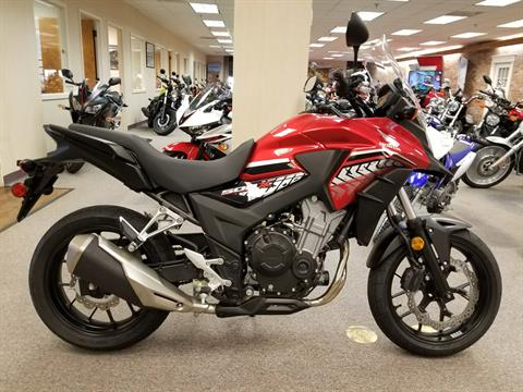 2017 Honda CB500X in Statesville, North Carolina