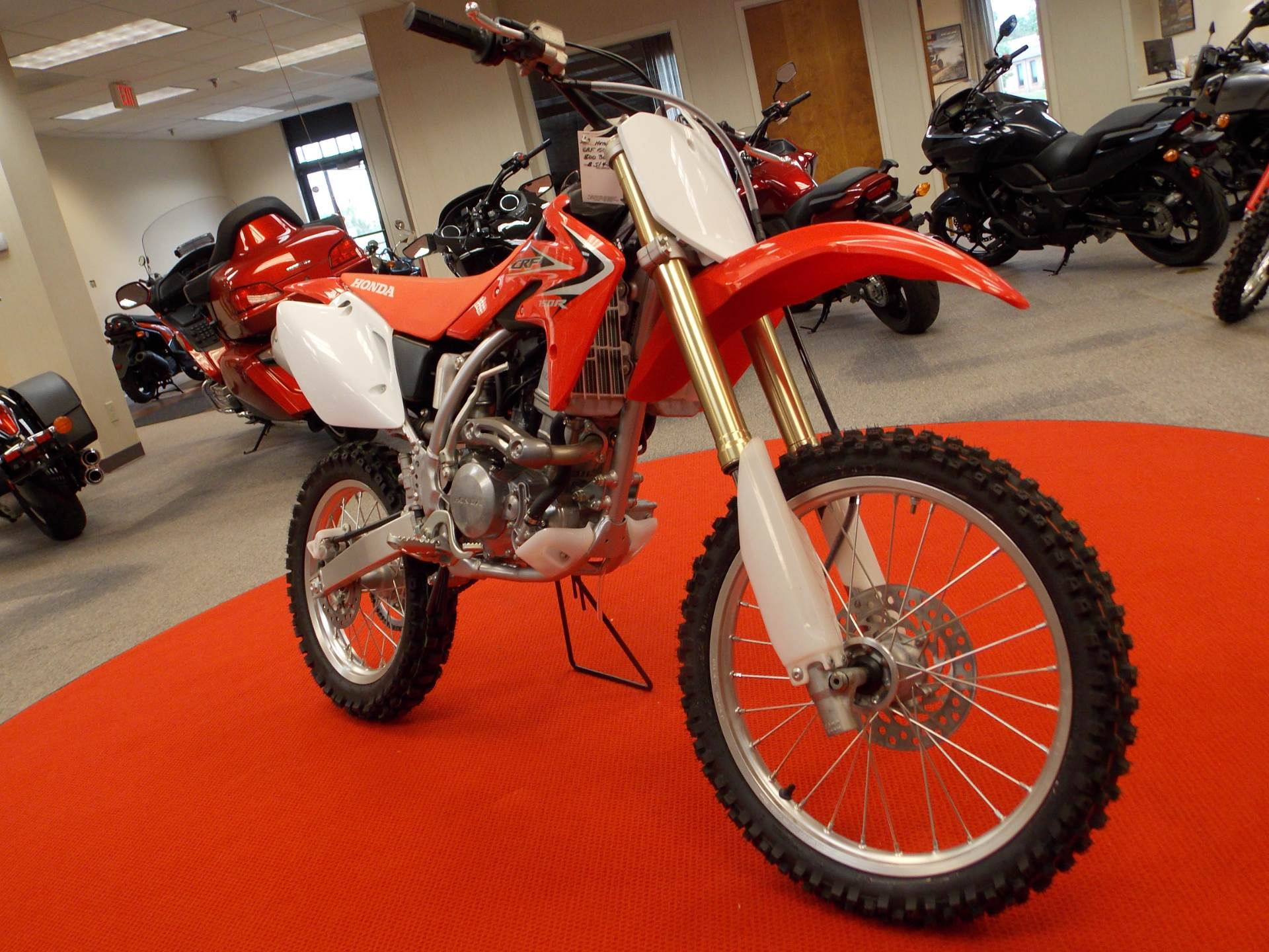 new 2017 honda crf150r motorcycles in statesville, nc | stock