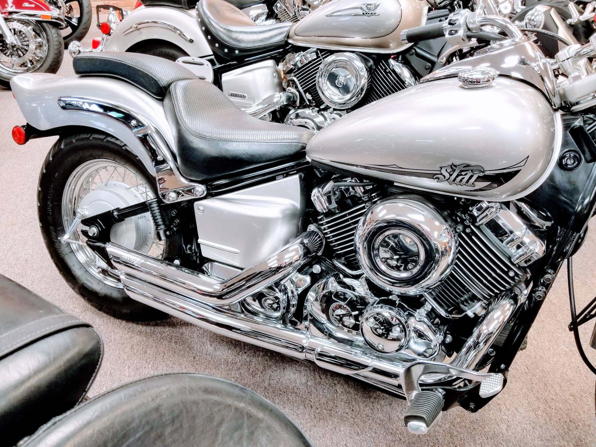 2014 Yamaha V Star 650 Custom in Statesville, North Carolina