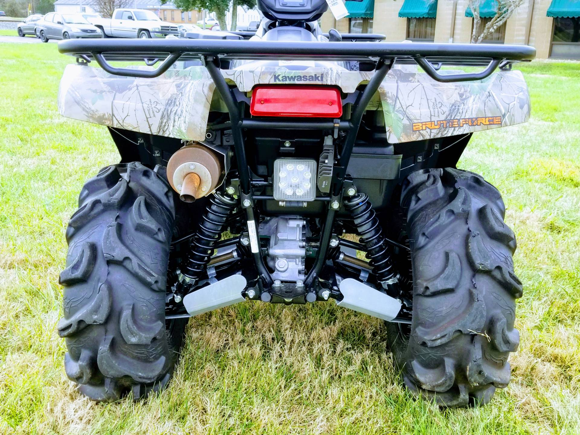 2017 Kawasaki Brute Force 750 4x4i EPS Camo in Statesville, North Carolina