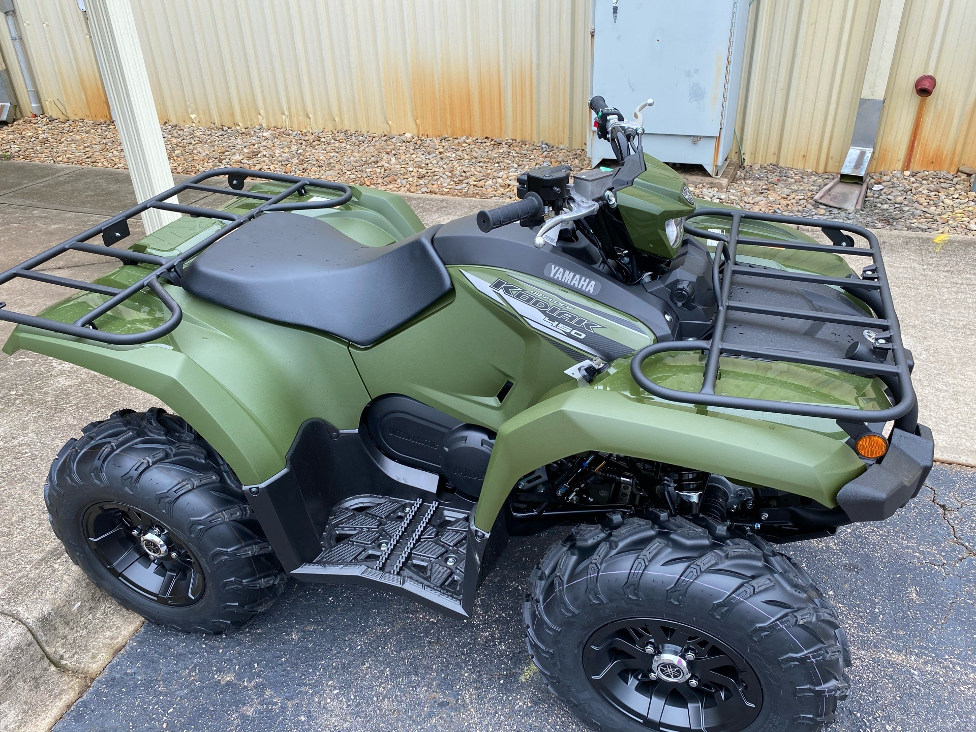 2021 Yamaha Kodiak 450 EPS in Statesville, North Carolina - Photo 3