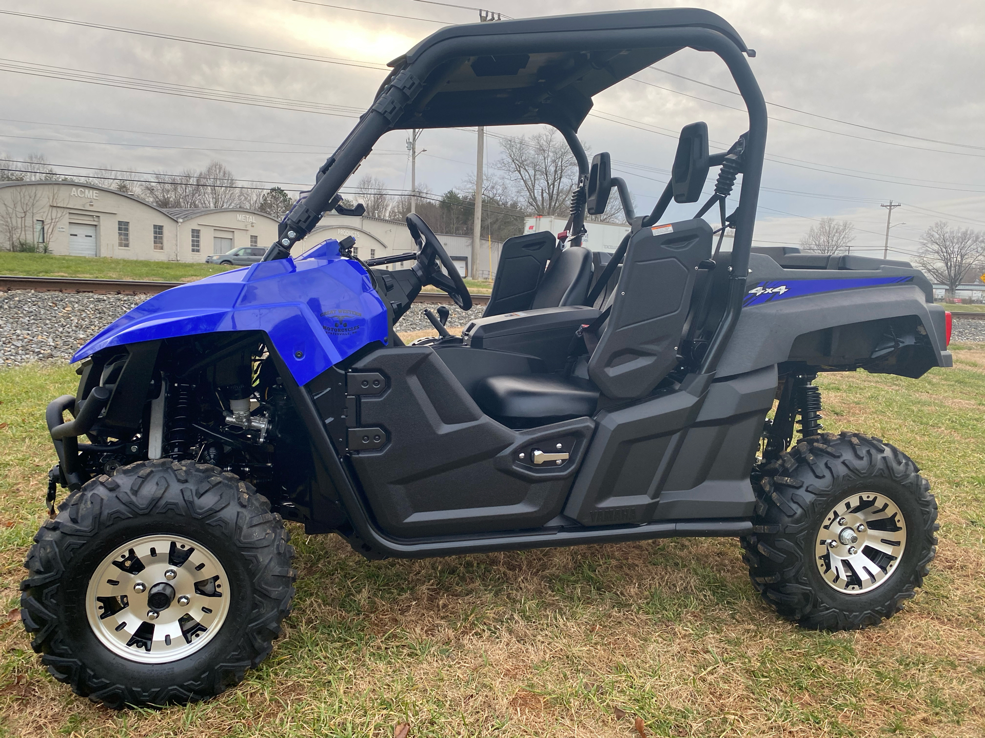 2017 Yamaha Wolverine EPS in Statesville, North Carolina - Photo 1