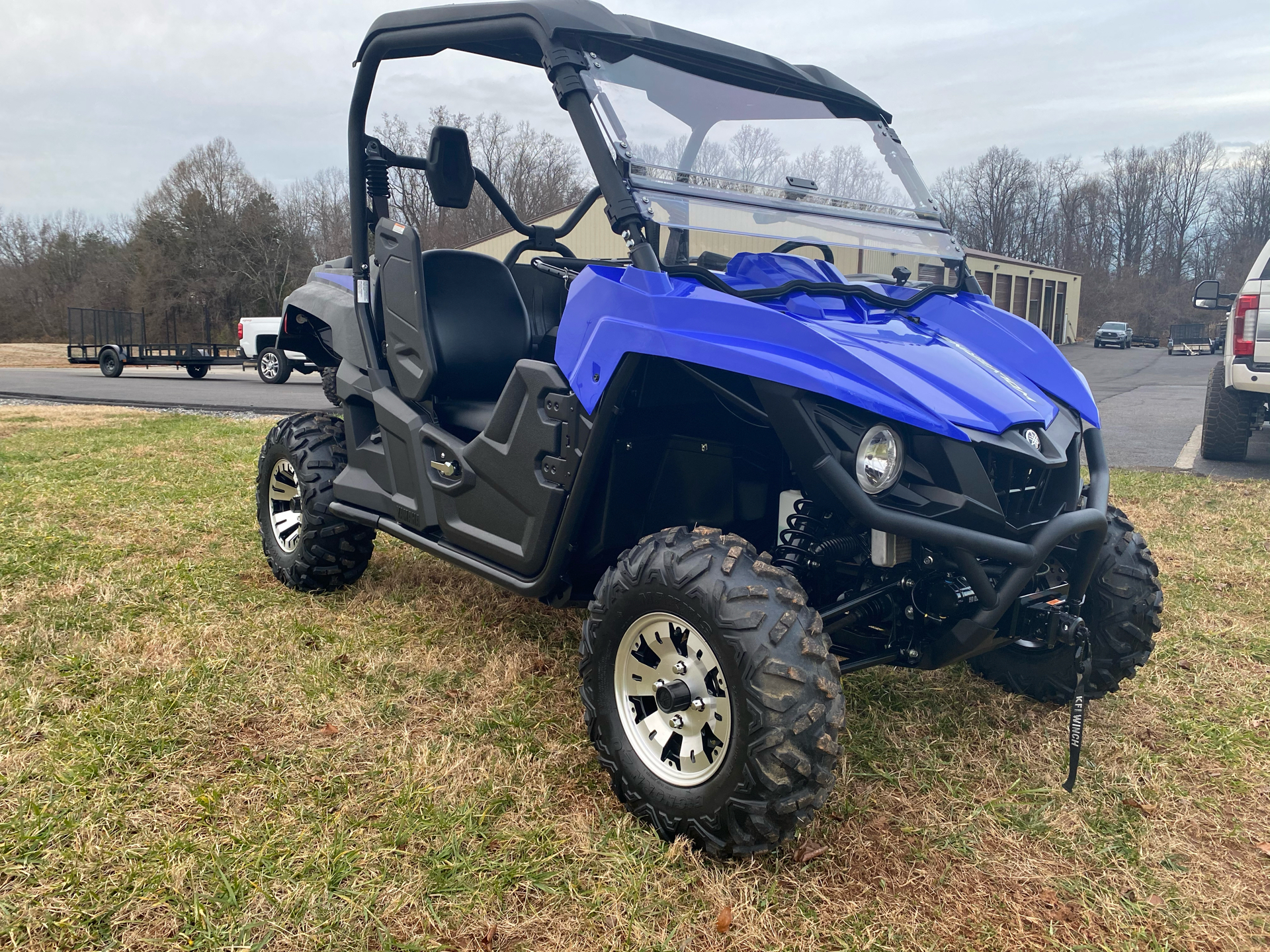 2017 Yamaha Wolverine EPS in Statesville, North Carolina - Photo 3