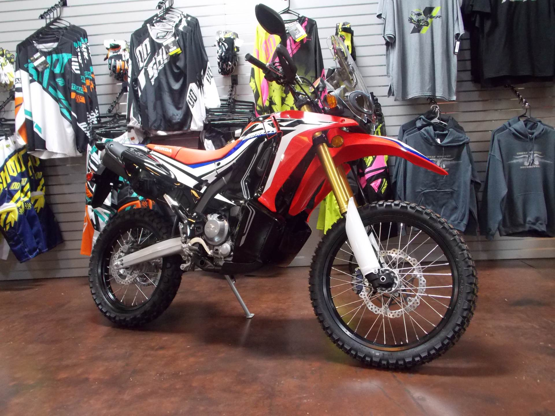 new 2017 honda crf250l rally motorcycles in statesville, nc