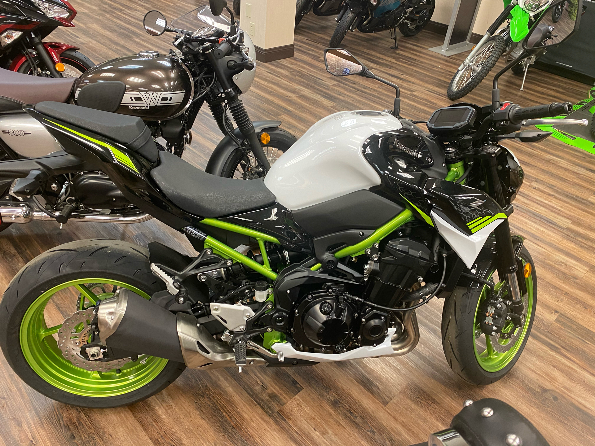 2021 Kawasaki Z900 ABS in Statesville, North Carolina - Photo 1
