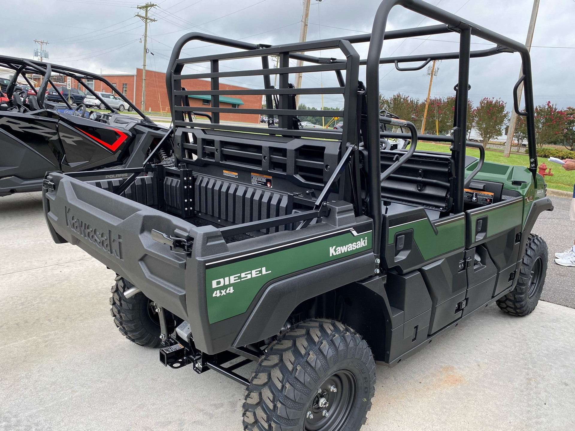 2021 Kawasaki Mule PRO-DXT EPS Diesel in Statesville, North Carolina - Photo 4