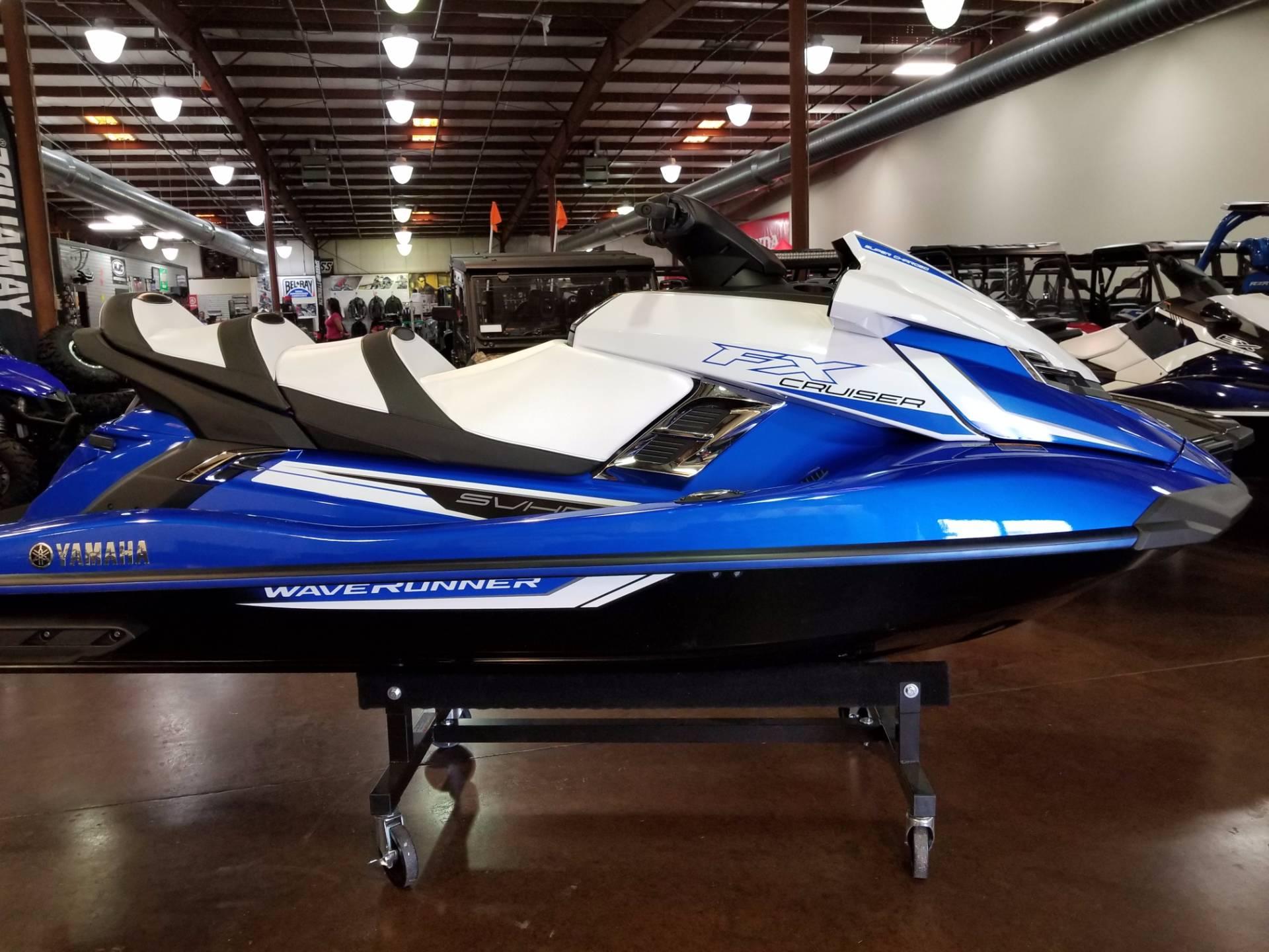 New 2018 yamaha fx cruiser svho watercraft in statesville for Yamaha cruiser 2018