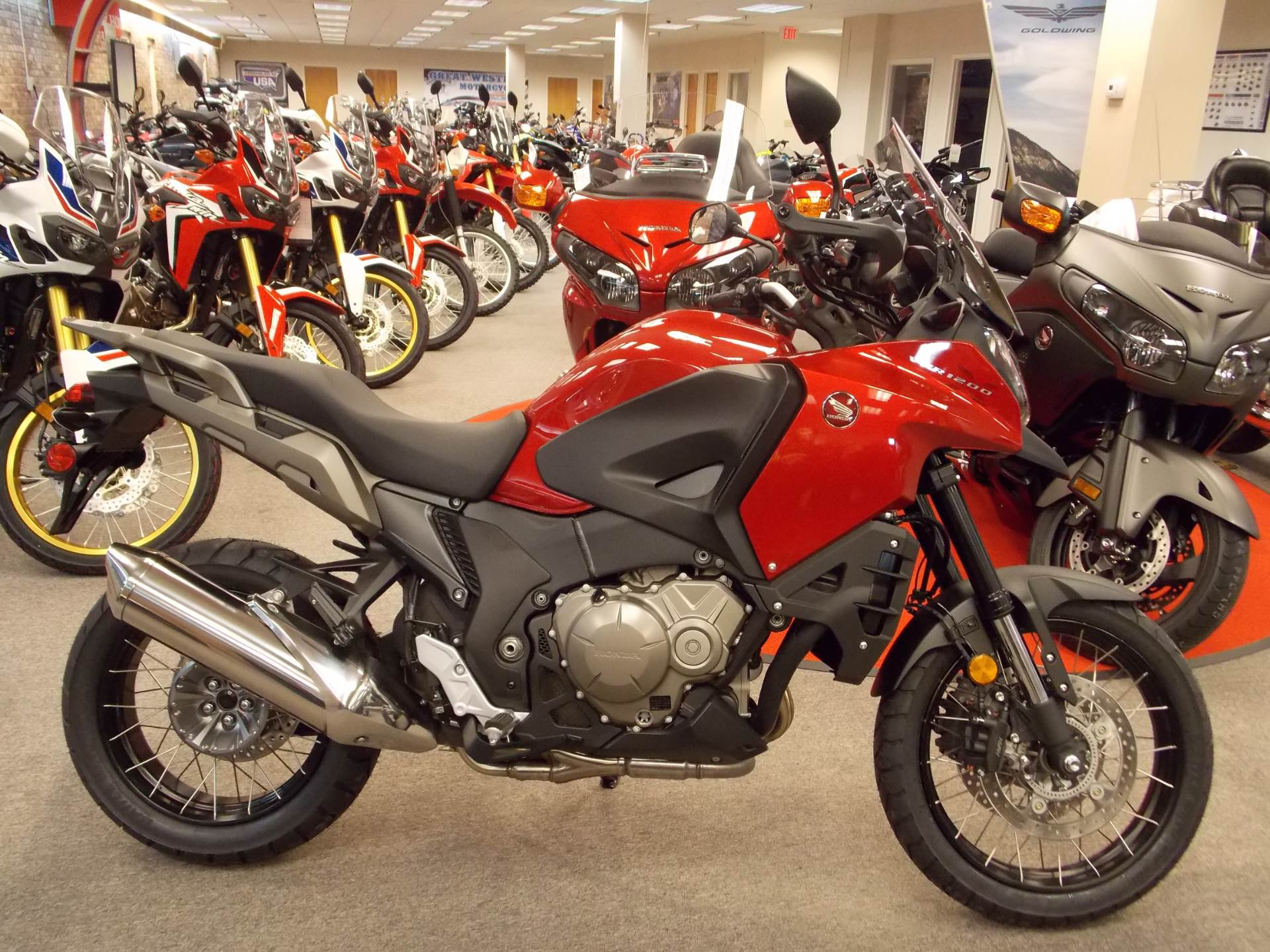 new 2017 honda vfr1200x motorcycles in statesville, nc | stock