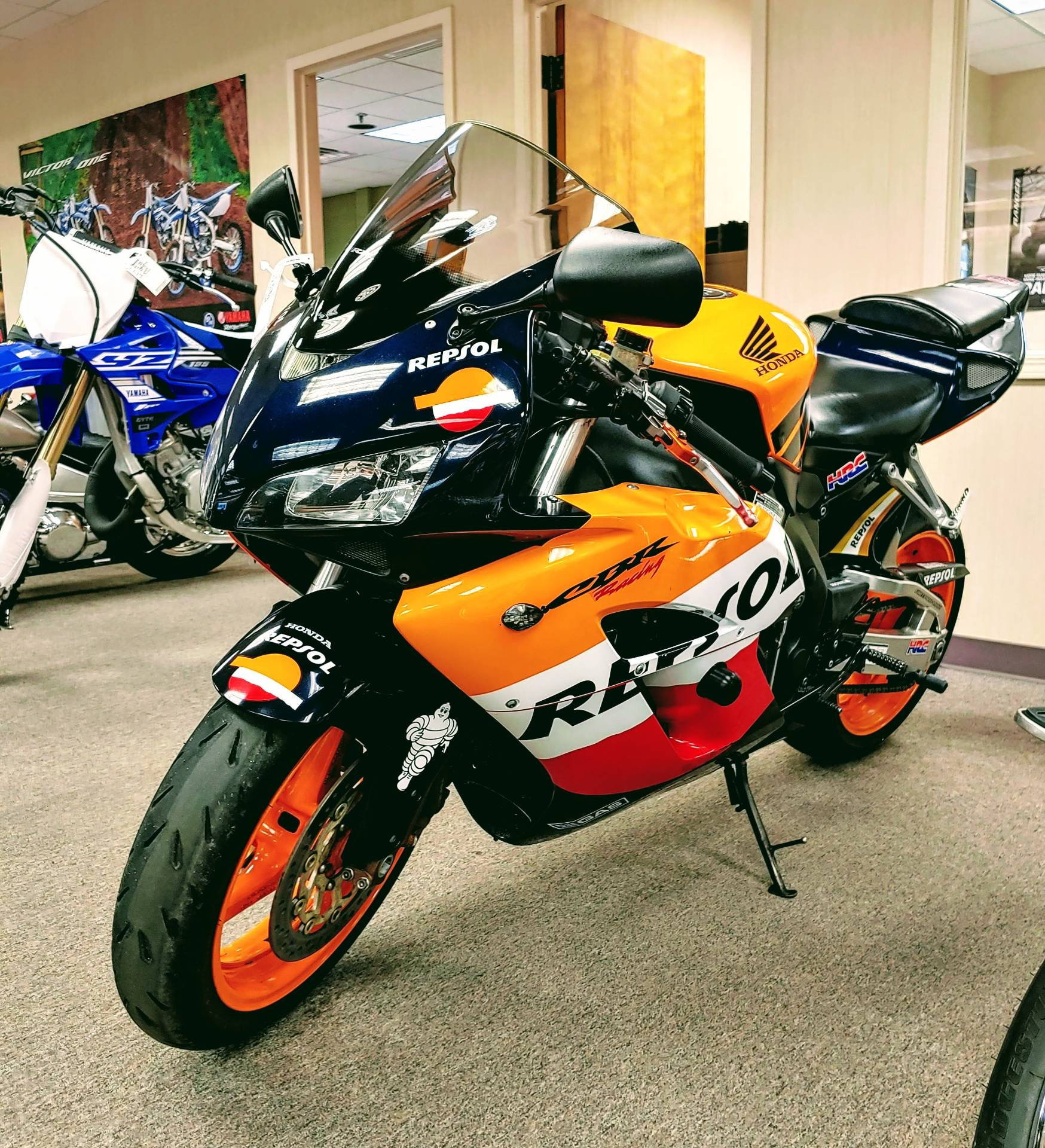 Used 2005 Honda Cbr1000rr Repsol Motorcycles In Statesville Nc