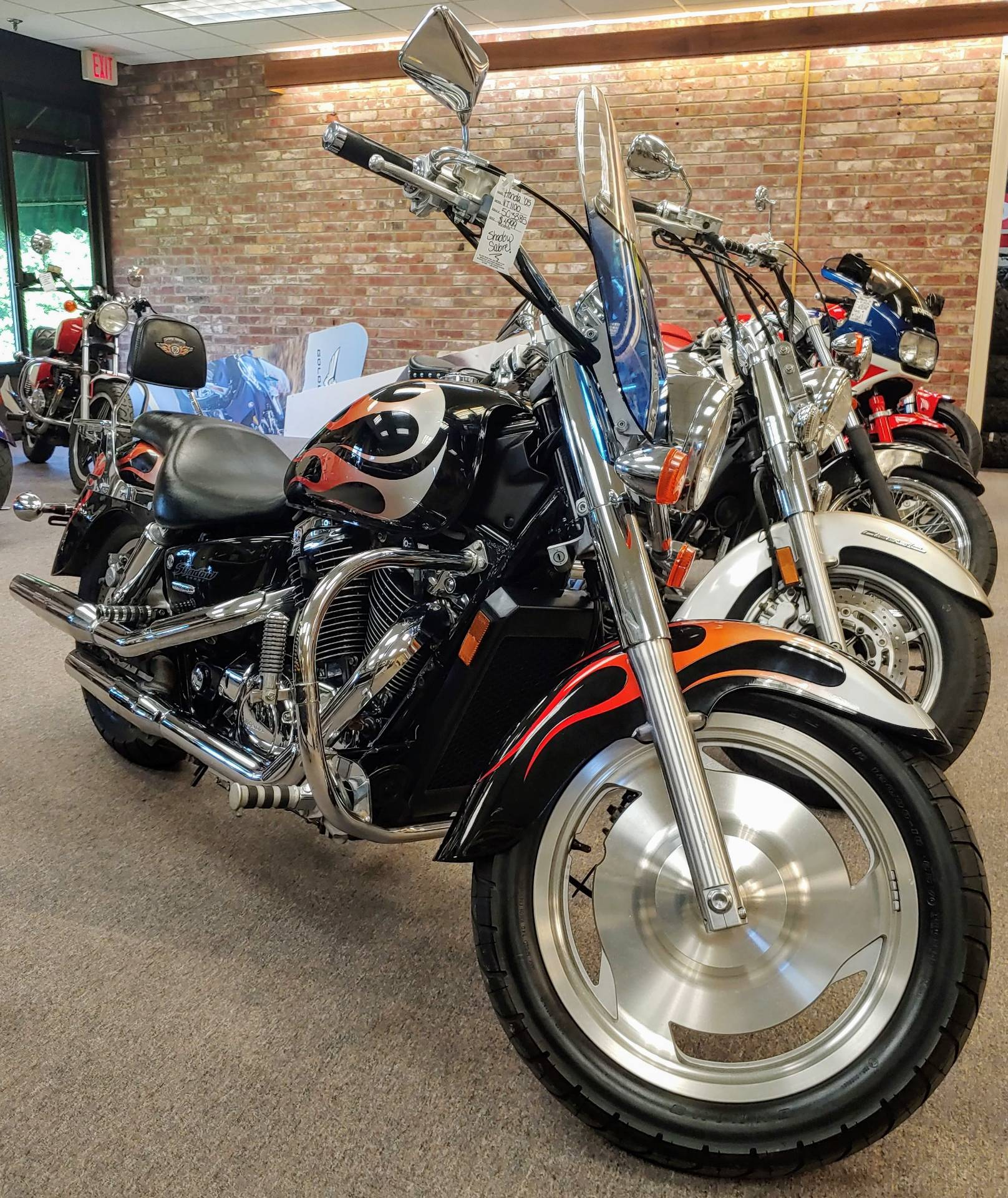 2005 Honda Shadow Sabre™ 1100 in Statesville, North Carolina - Photo 2