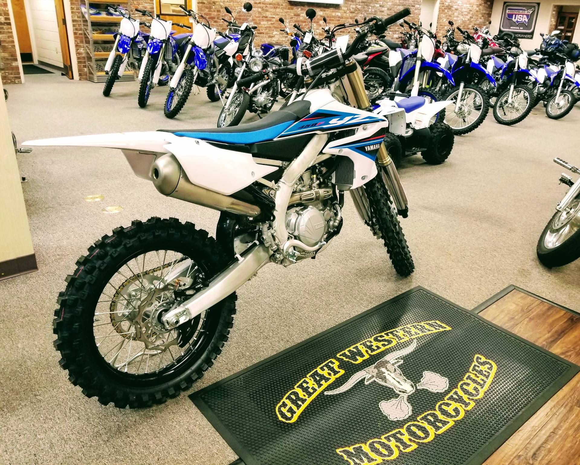 2019 Yamaha YZ450F in Statesville, North Carolina